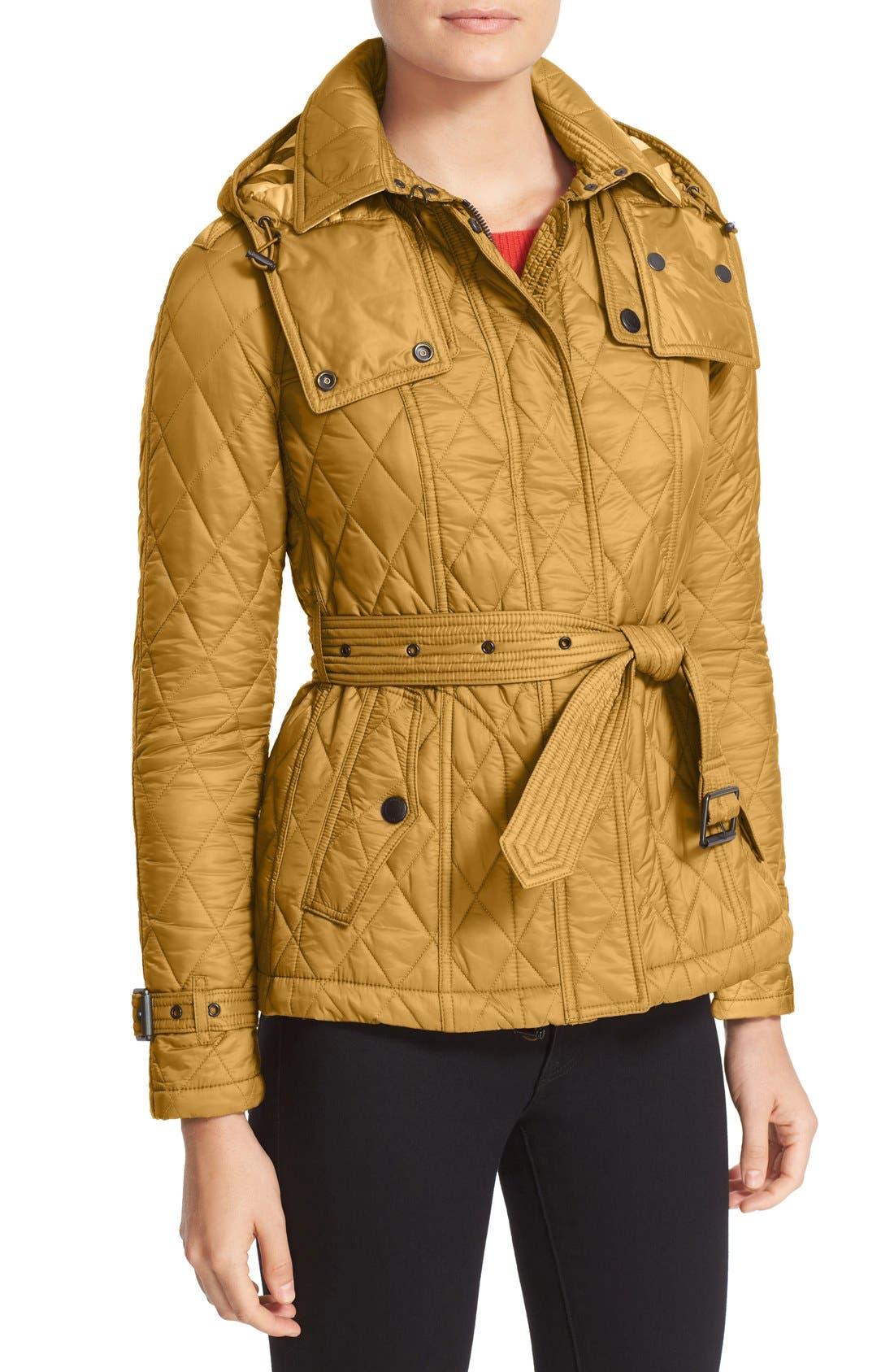 Finsbridge ShortQuilted Jacket,                             Alternate thumbnail 10, color,