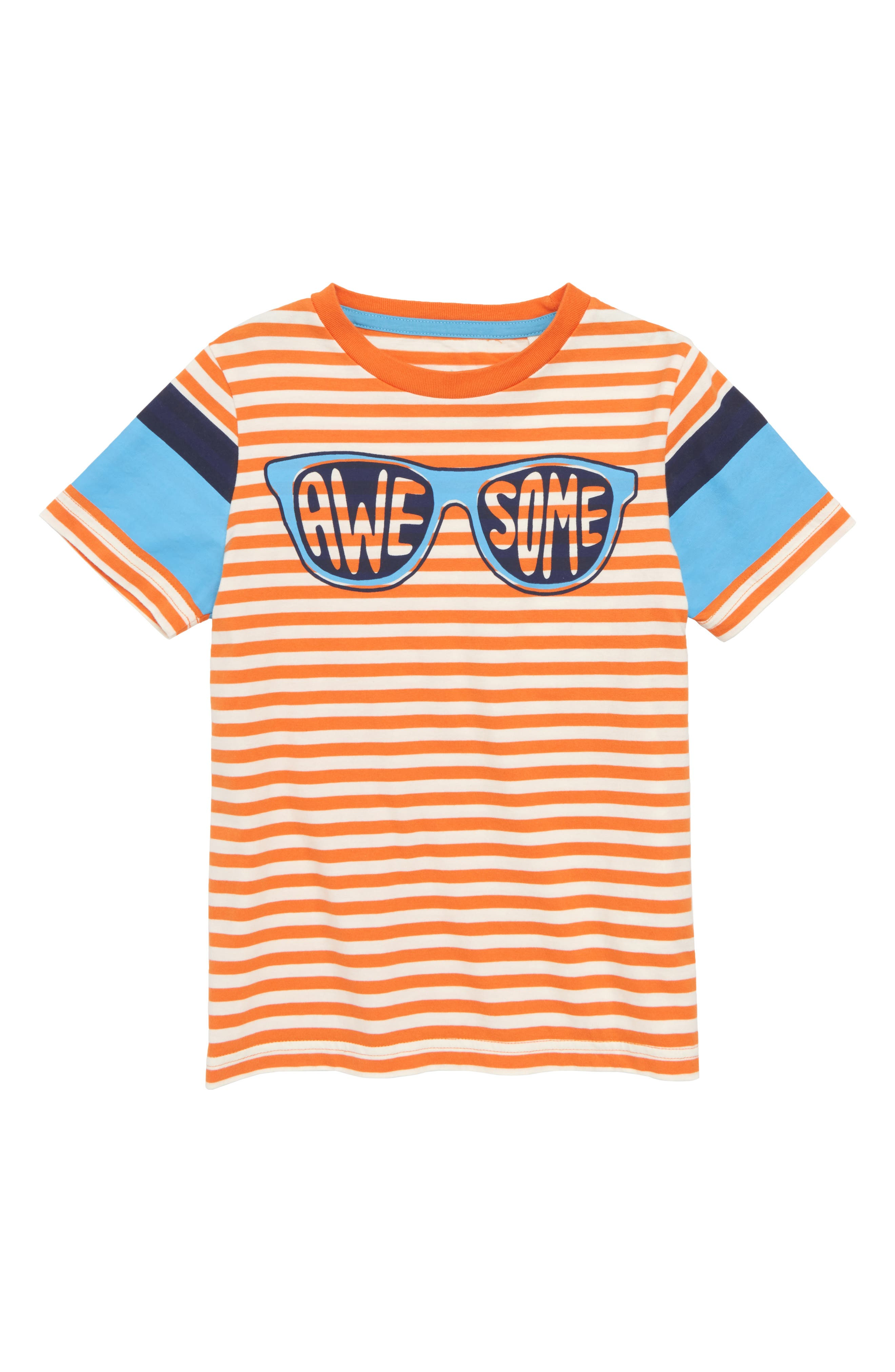 MINI BODEN Word Up Graphic T-Shirt, Main, color, 834