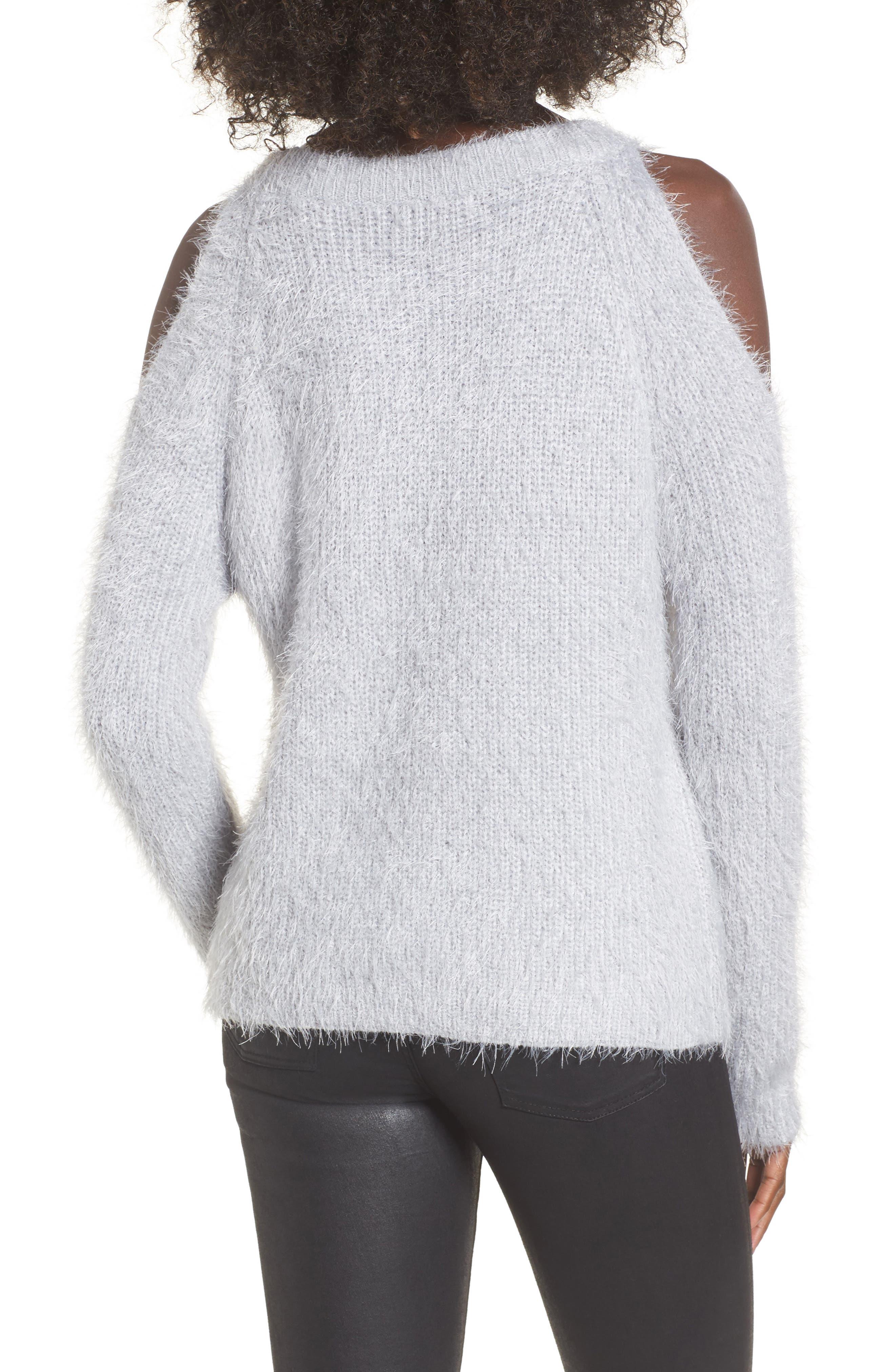 Cold Shoulder Sweater,                             Alternate thumbnail 2, color,