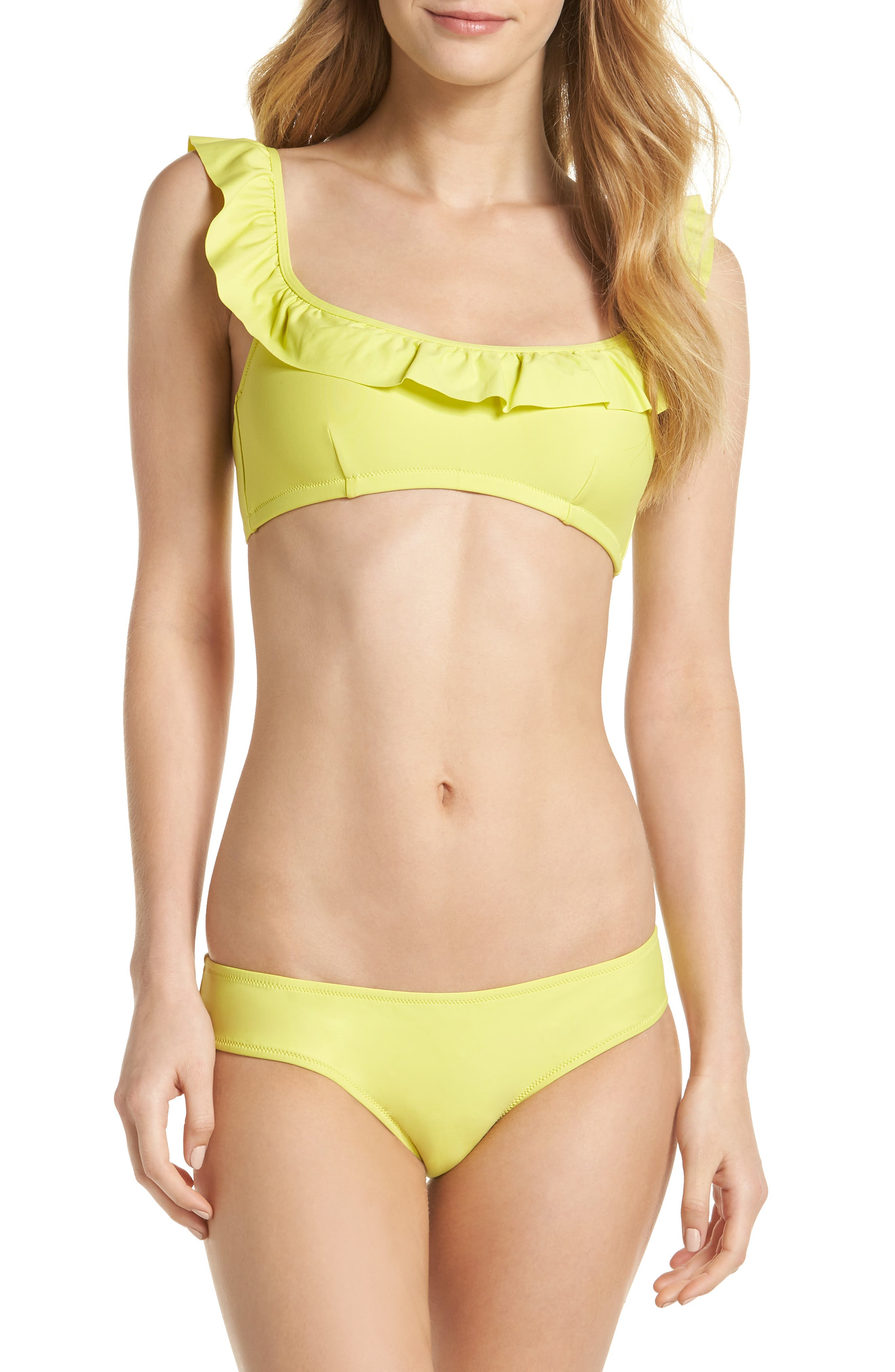 Ruffle Bikini Top,                             Alternate thumbnail 28, color,