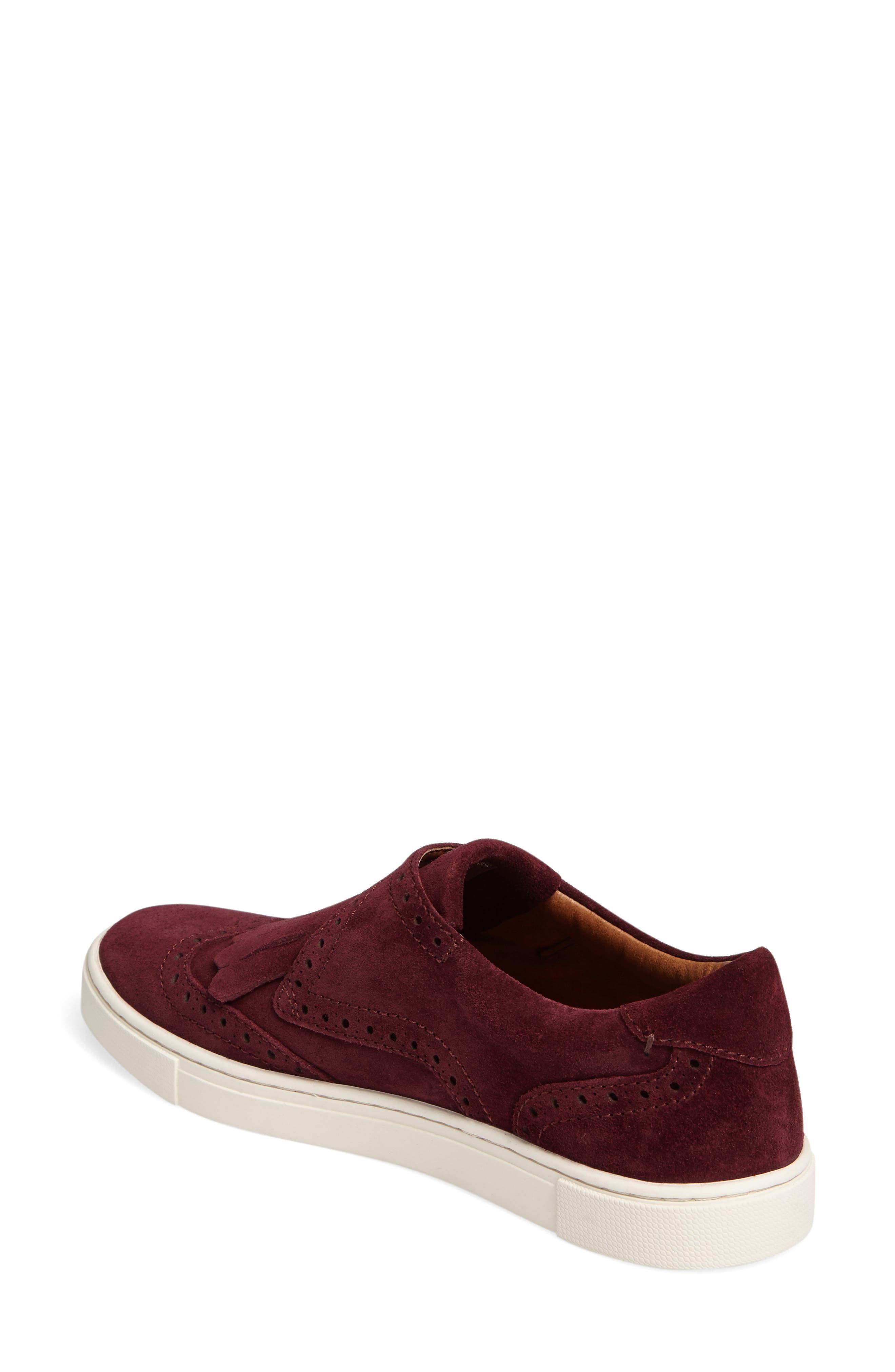 'Gemma' Kiltie Slip On-Sneaker,                             Alternate thumbnail 12, color,
