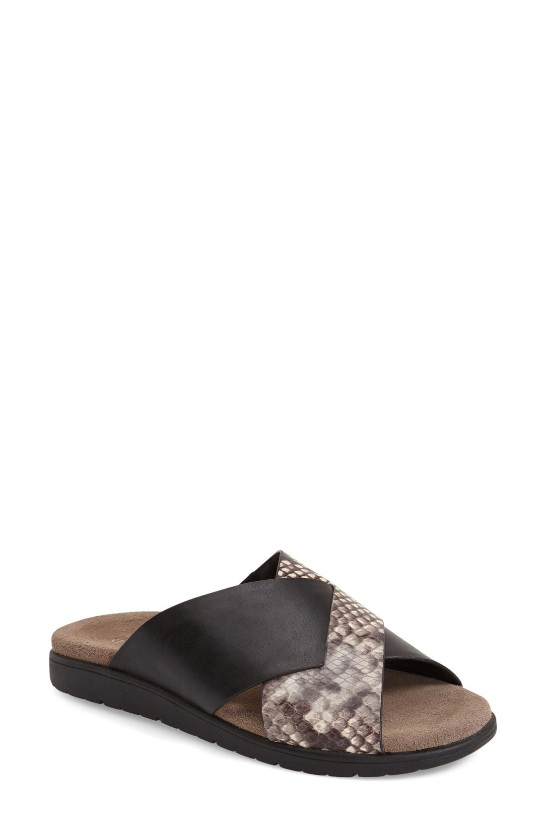 KENNETH COLE NEW YORK 'Maxwell' Sandal, Main, color, 001