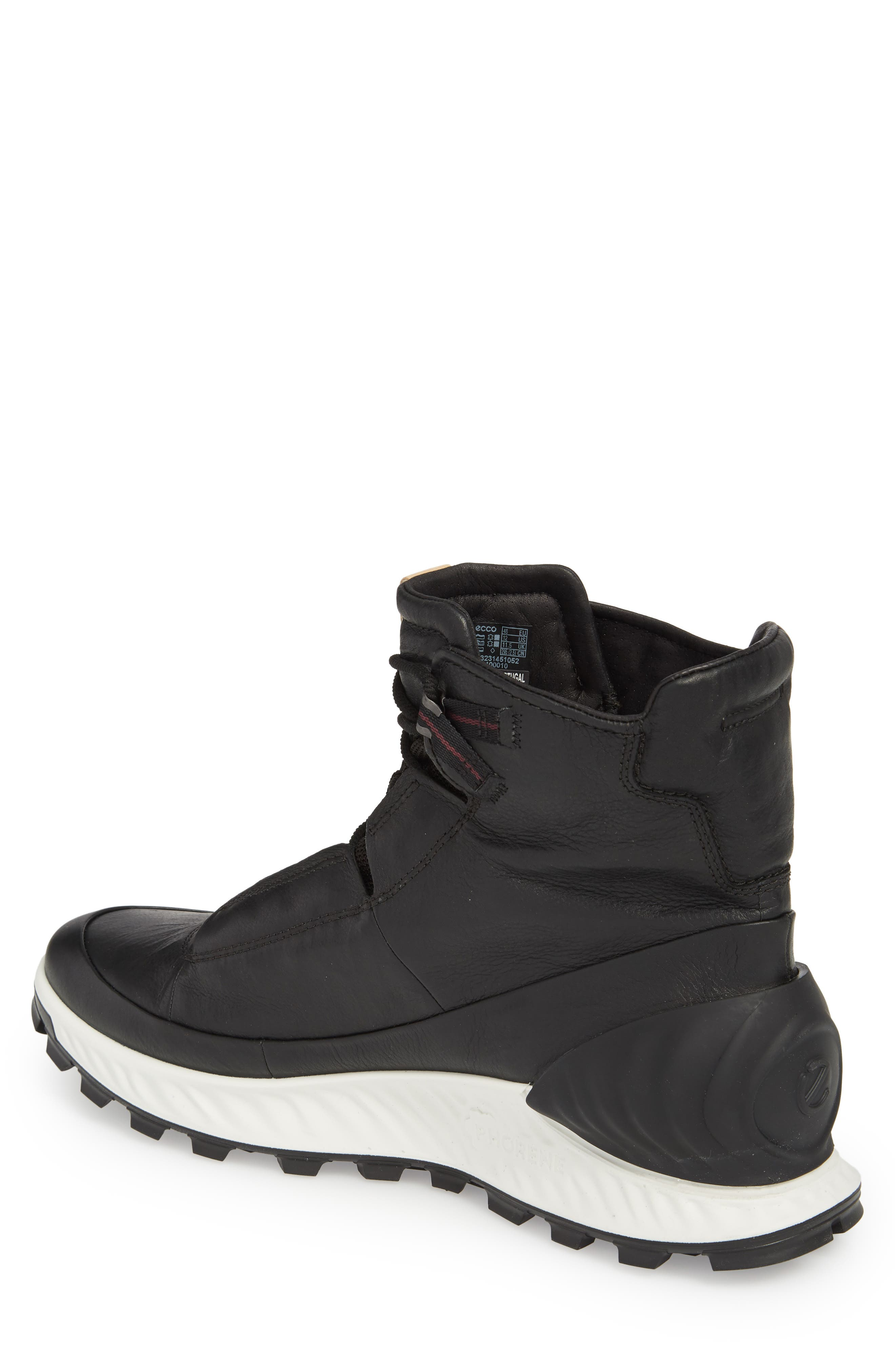 Limited Edition Exostrike Dyneema Sneaker Boot,                             Alternate thumbnail 2, color,                             BLACK LEATHER