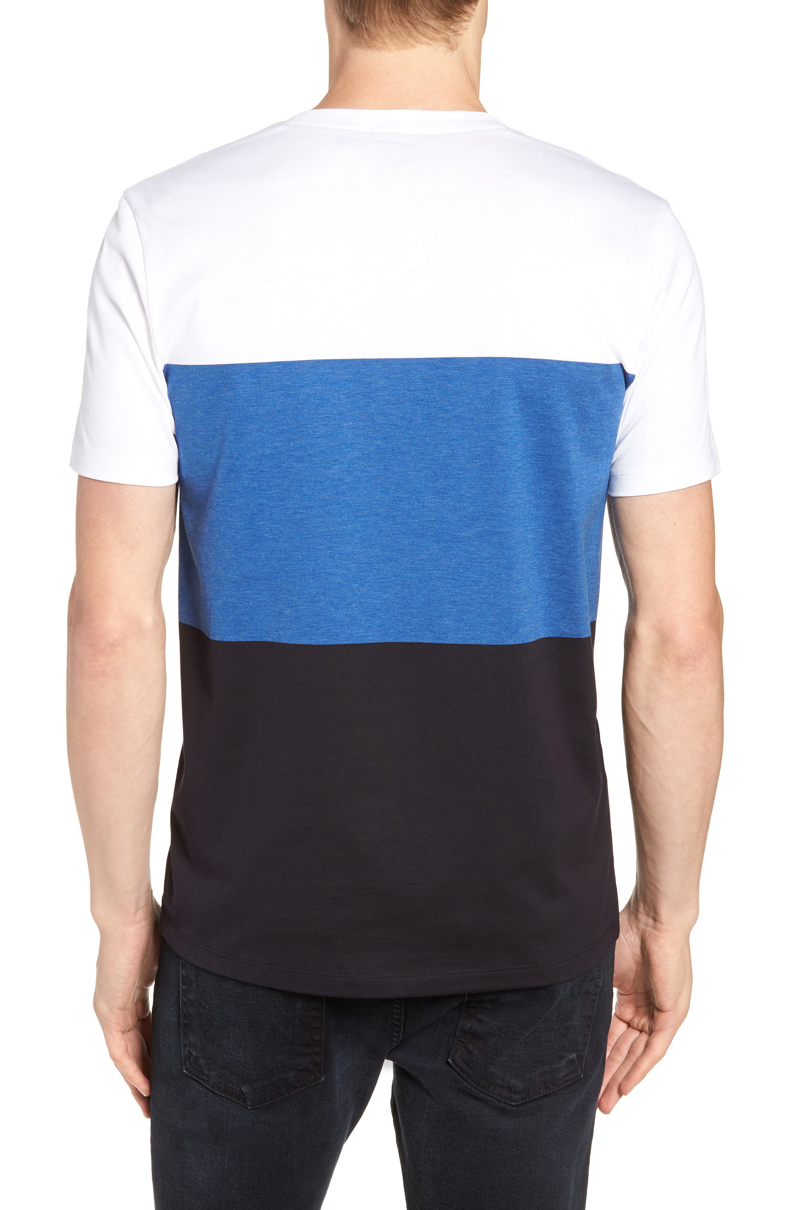 Tessler Colorblock Slim Fit T-Shirt,                             Alternate thumbnail 2, color,                             474