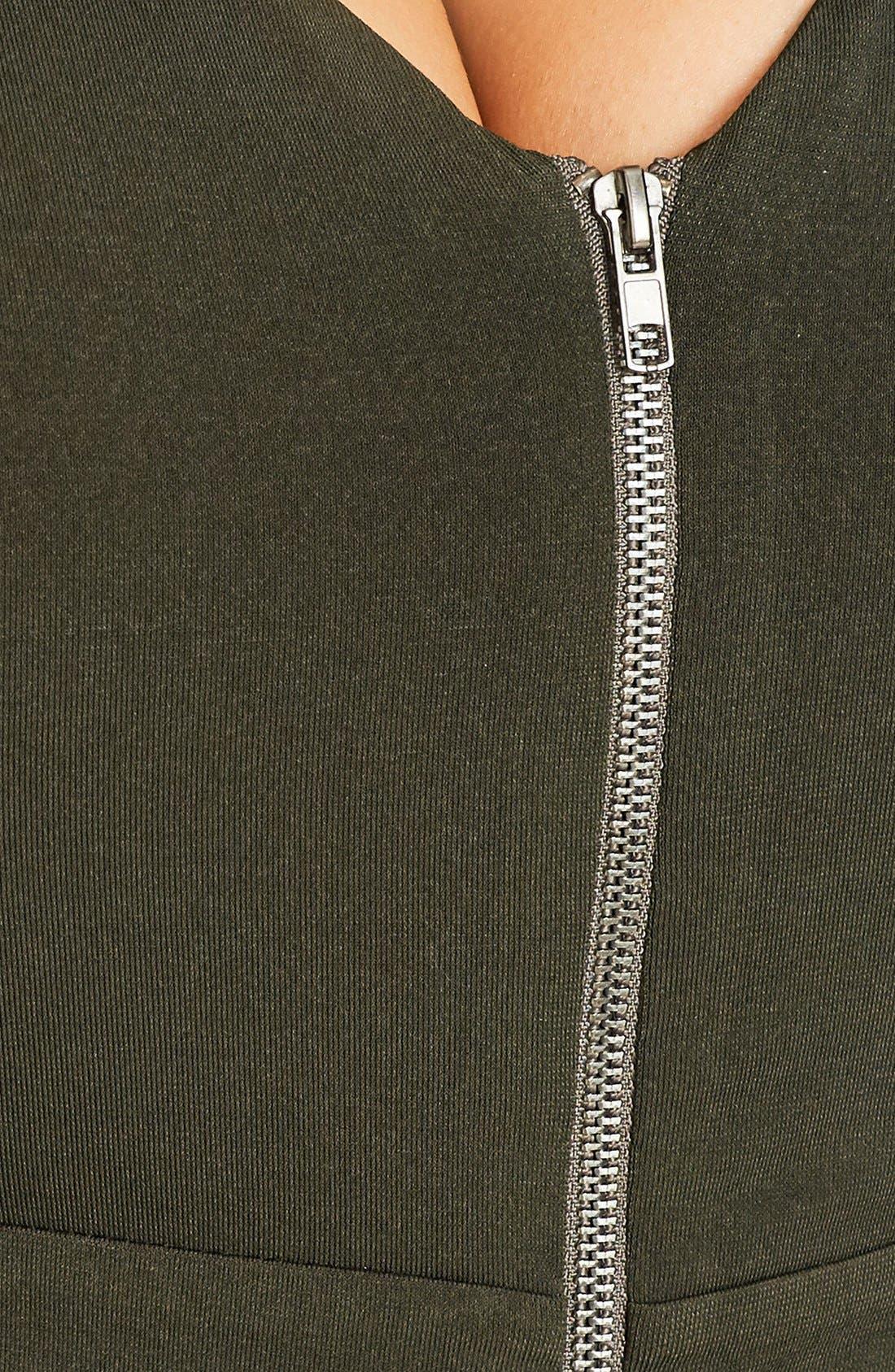 Sexy Drape Midi Dress,                             Alternate thumbnail 3, color,                             311
