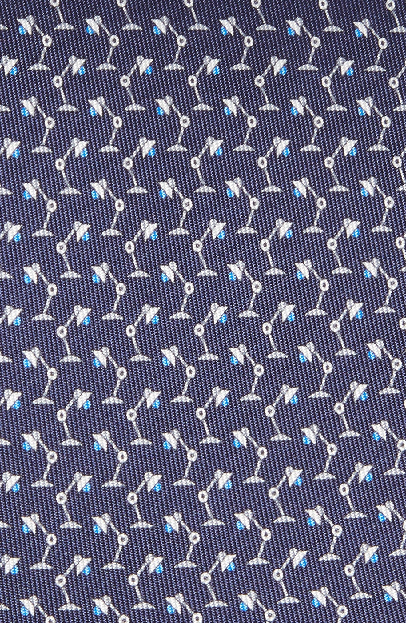 Lamp Print Tie,                             Alternate thumbnail 2, color,                             410
