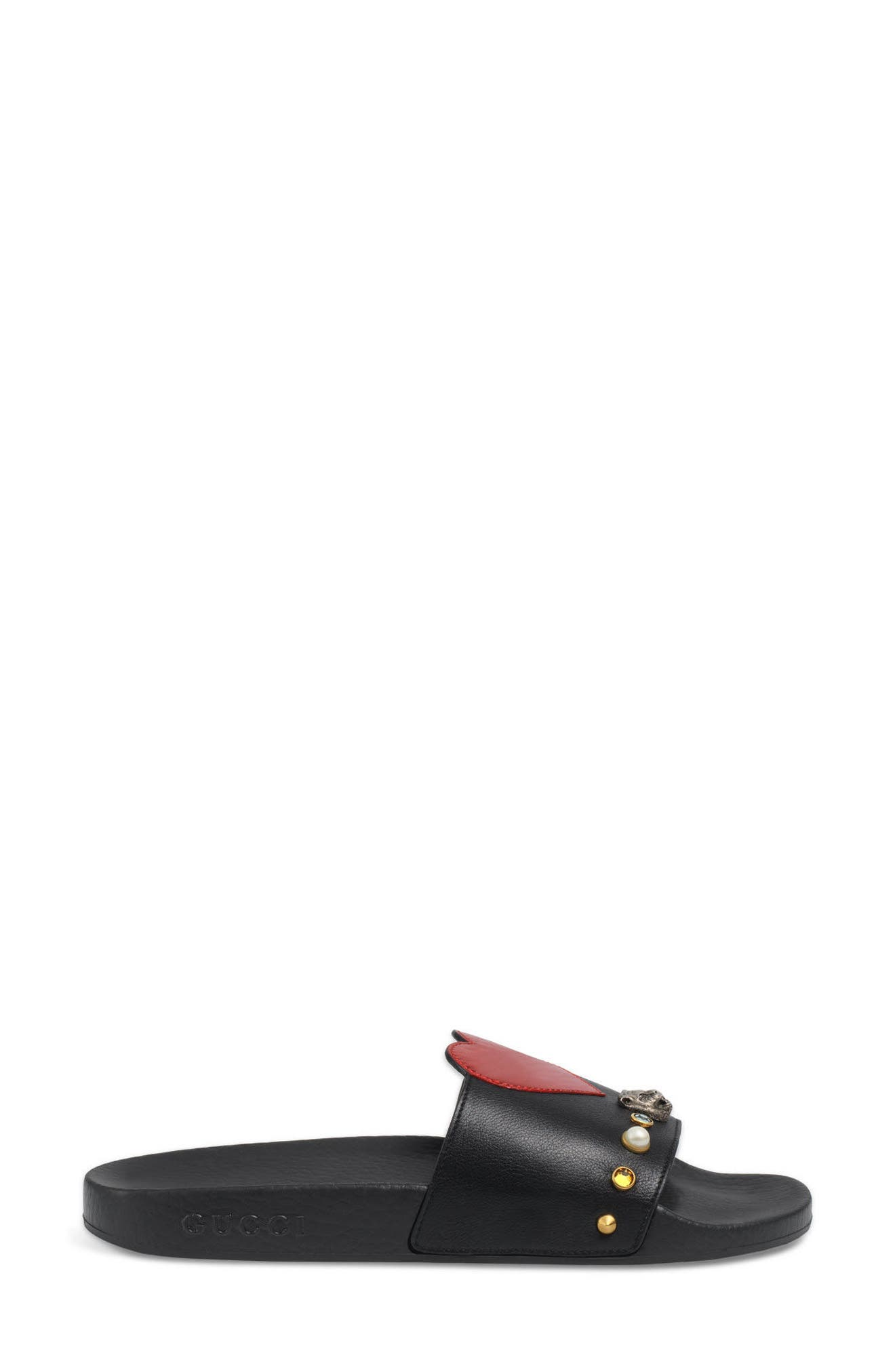 Pursuit Slide Sandal,                             Alternate thumbnail 3, color,                             001
