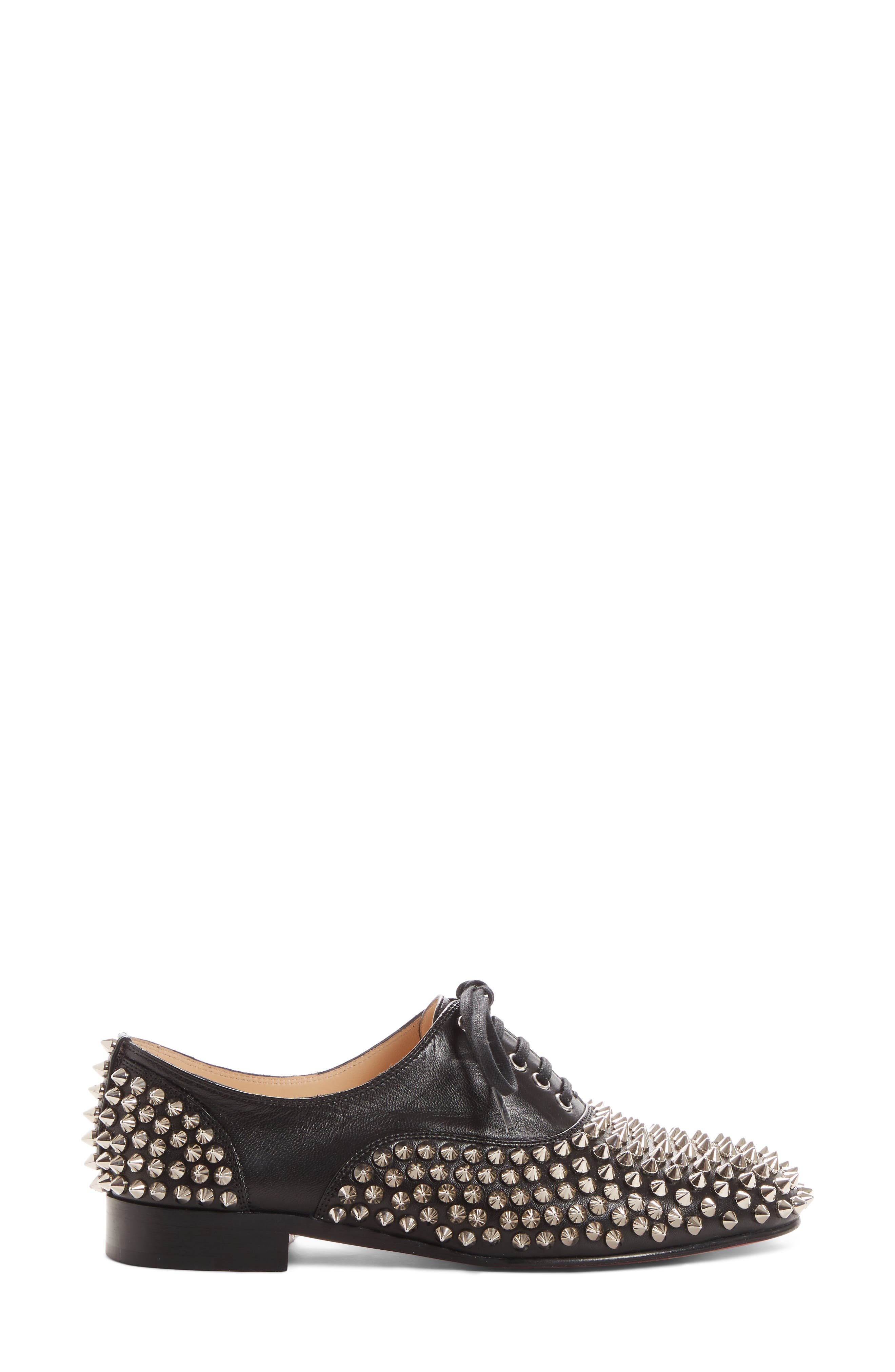 Freddy Spiked Loafer,                             Alternate thumbnail 3, color,                             006