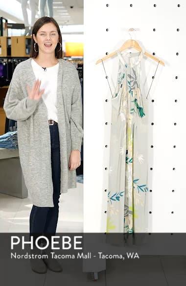 Byronne Floral Print Woven Midi Dress, sales video thumbnail