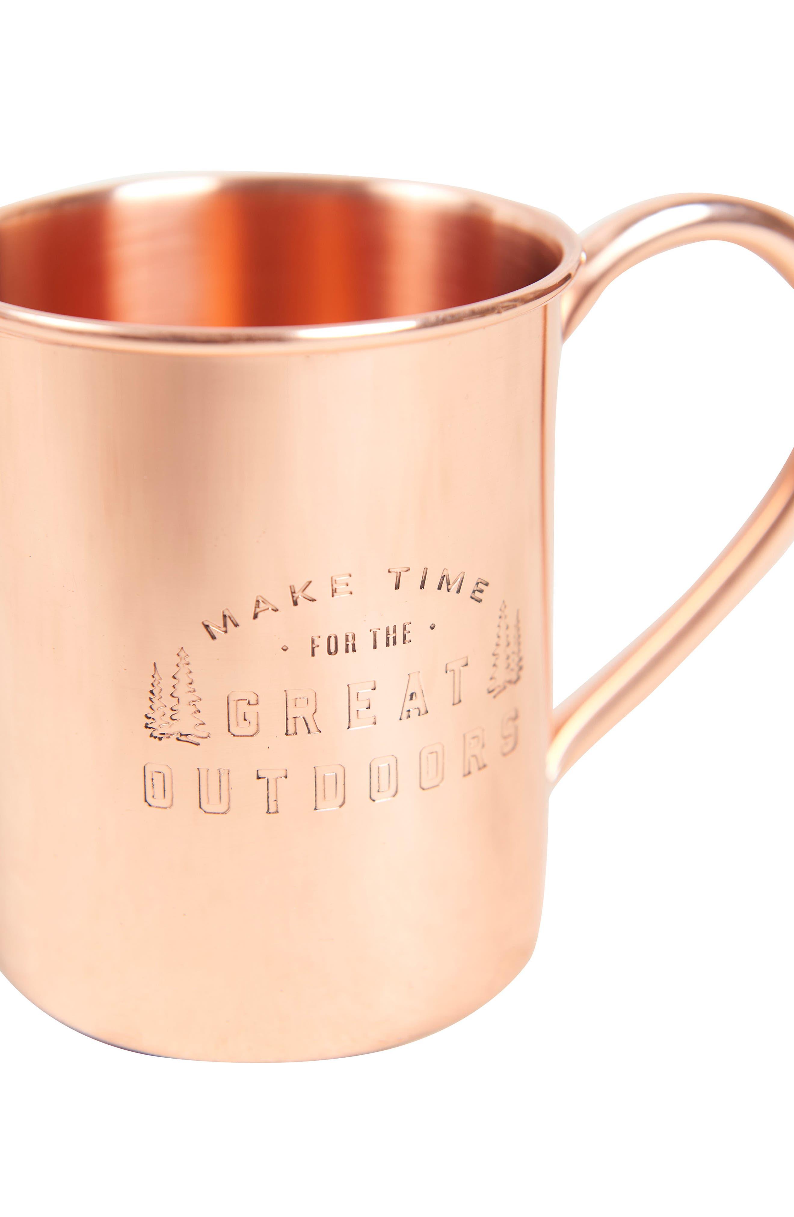 UNITED BY BLUE,                             Engraved Copper Mug,                             Alternate thumbnail 2, color,                             220