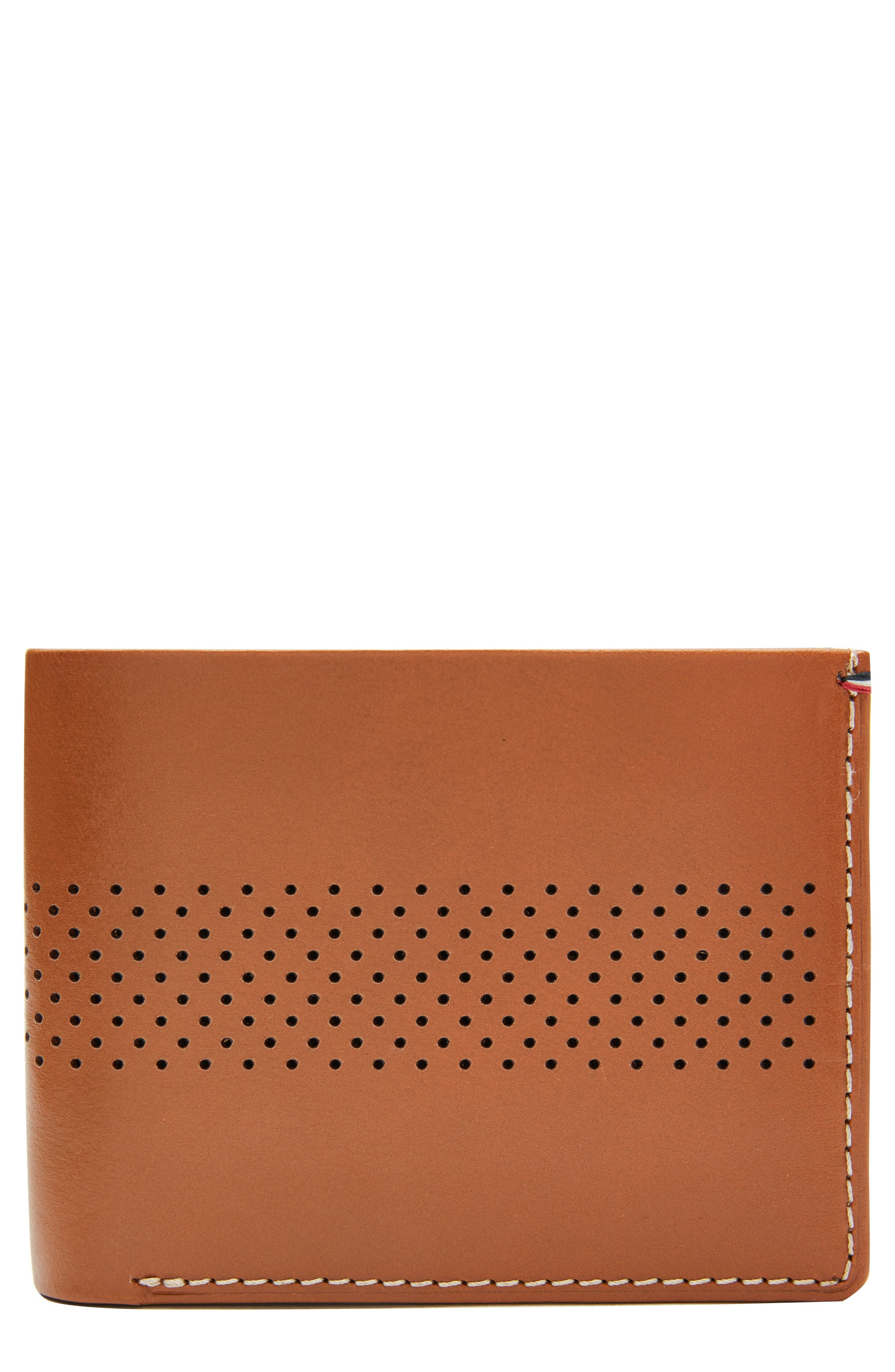 Leather Wallet,                         Main,                         color, 250