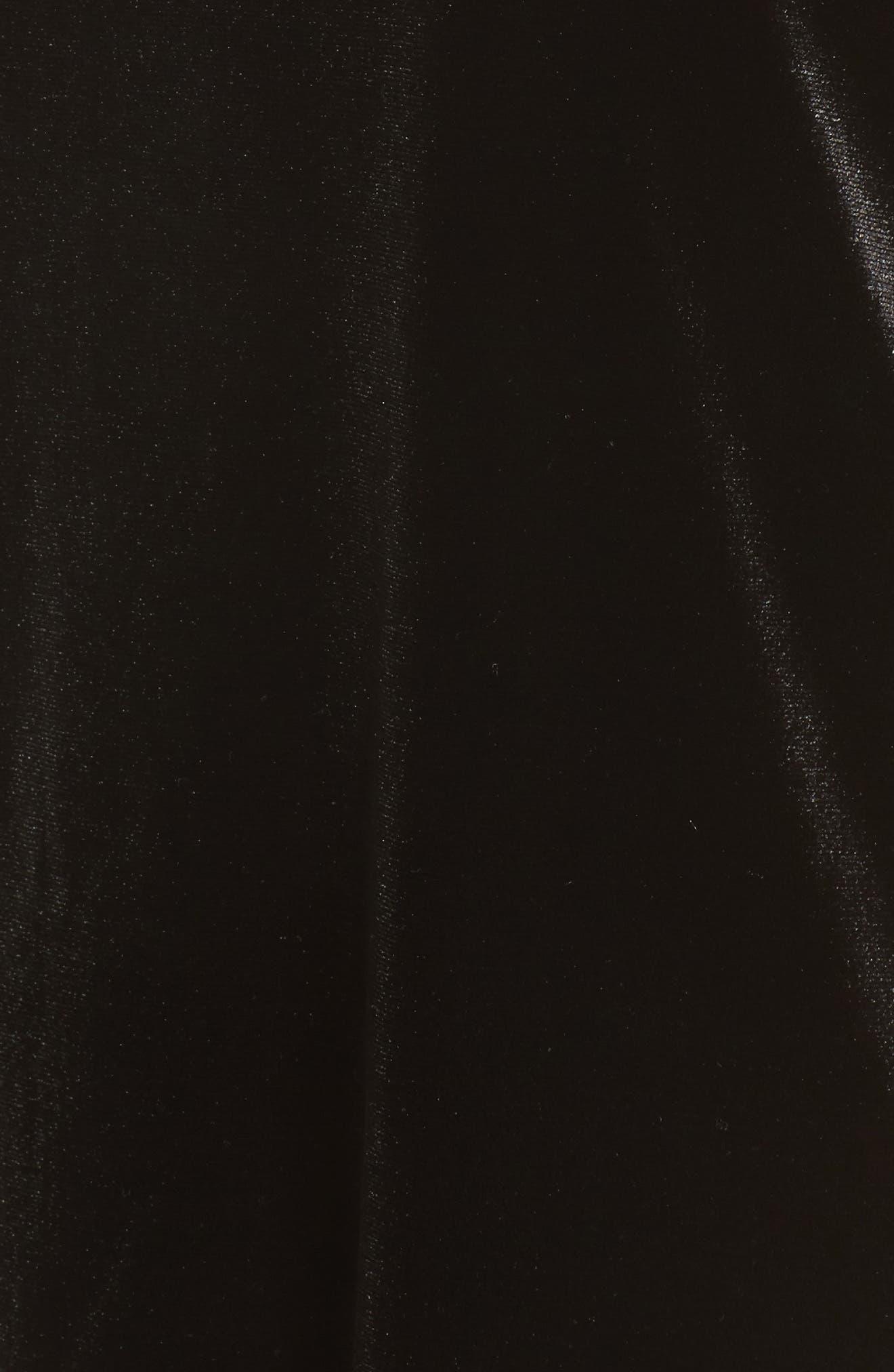 Thea Velvet Top,                             Alternate thumbnail 5, color,                             001