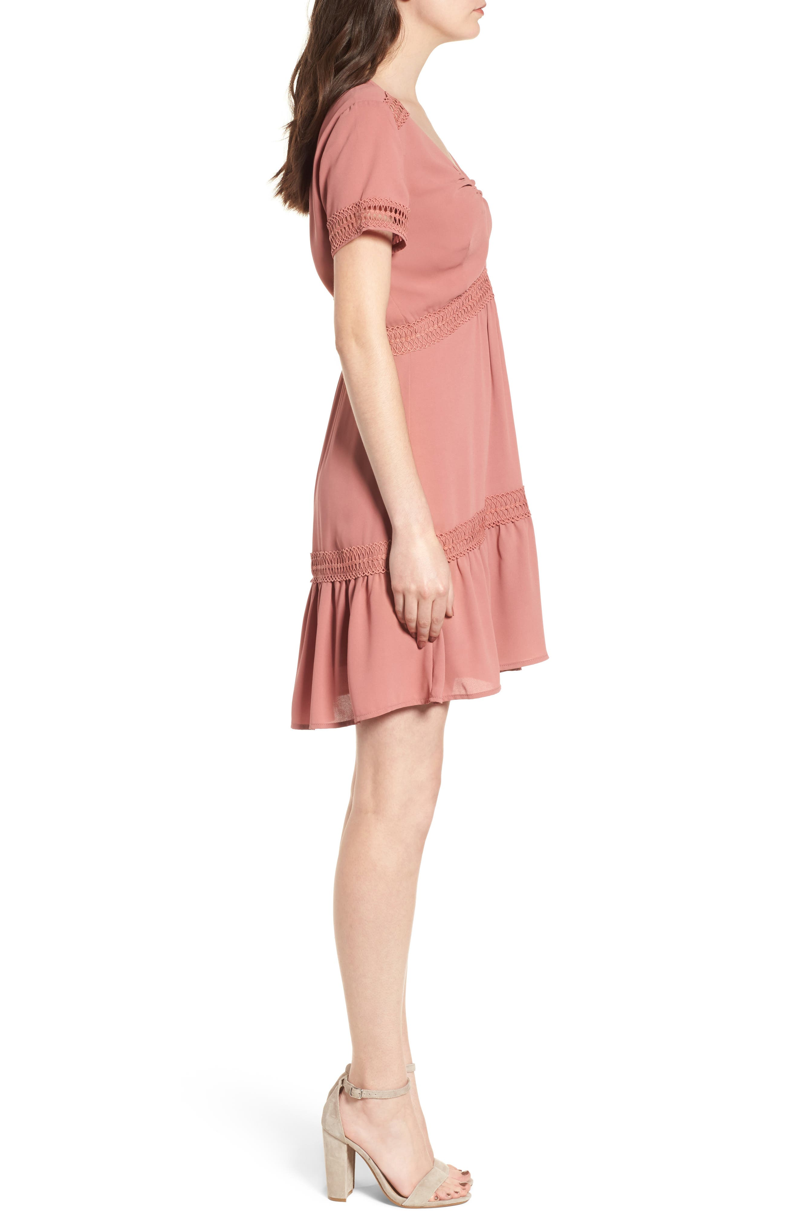 Take Hold Tiered Dress,                             Alternate thumbnail 6, color,