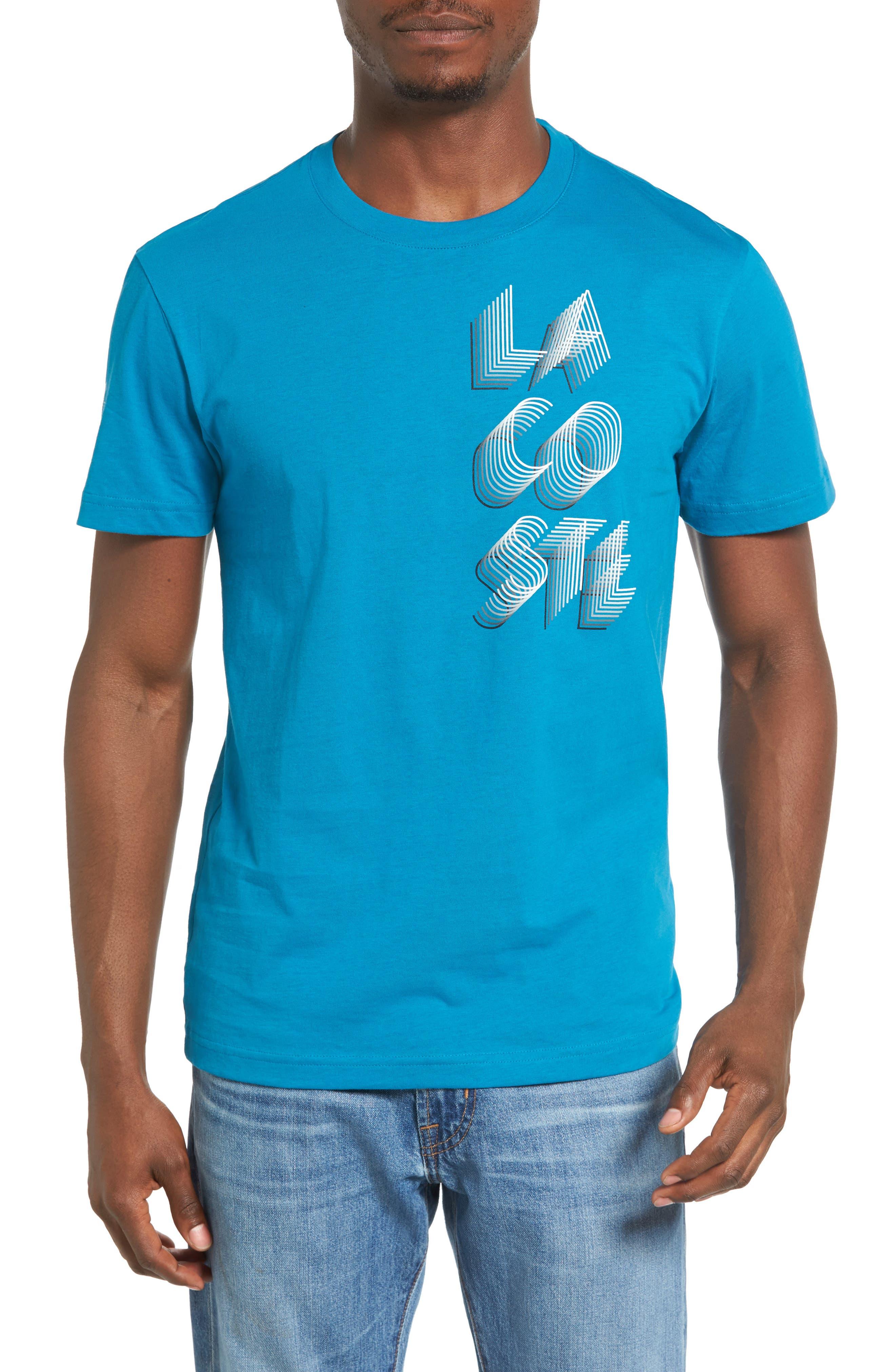 3D Print Logo Graphic T-Shirt,                             Main thumbnail 5, color,