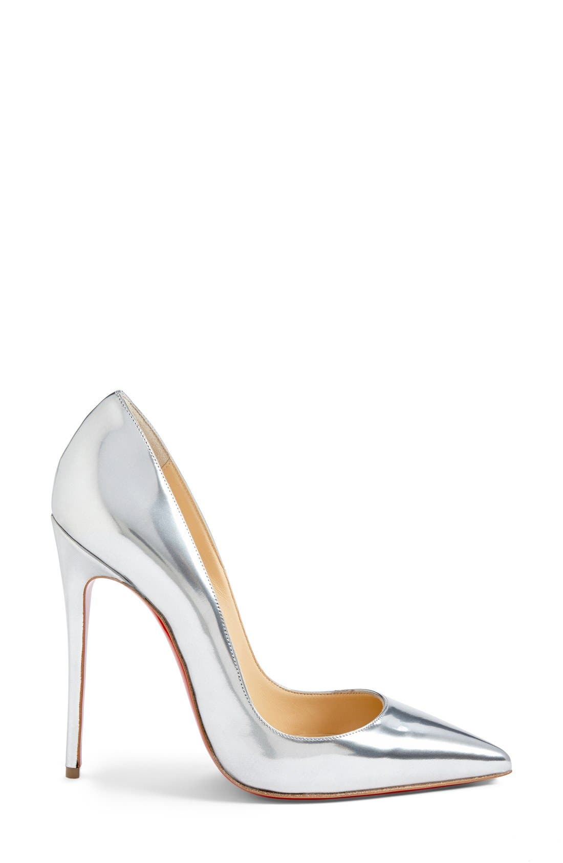 'So Kate' Pointy Toe Pump,                             Alternate thumbnail 4, color,                             040