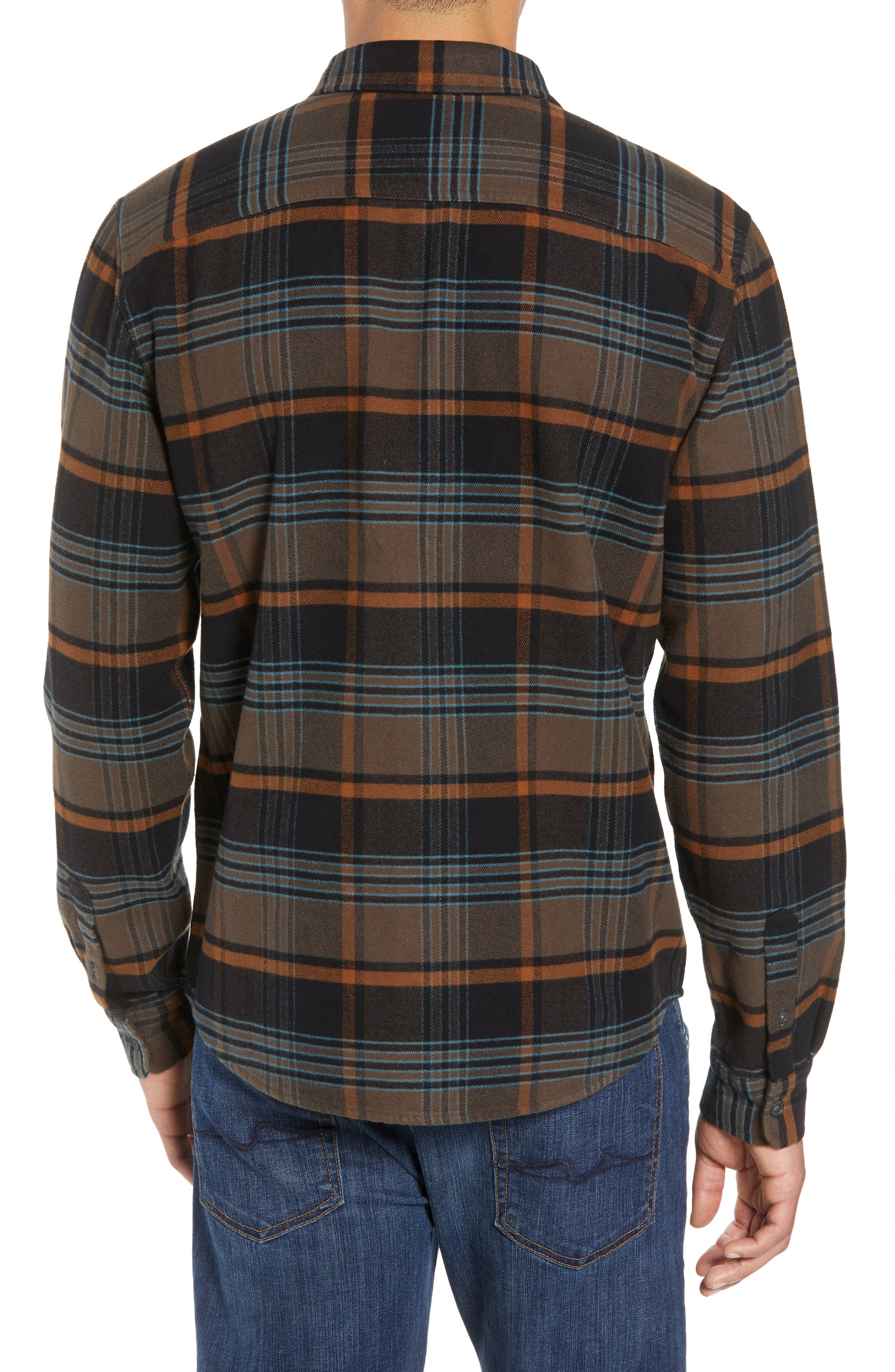 Ridgemont Flannel Shirt,                             Alternate thumbnail 2, color,                             216