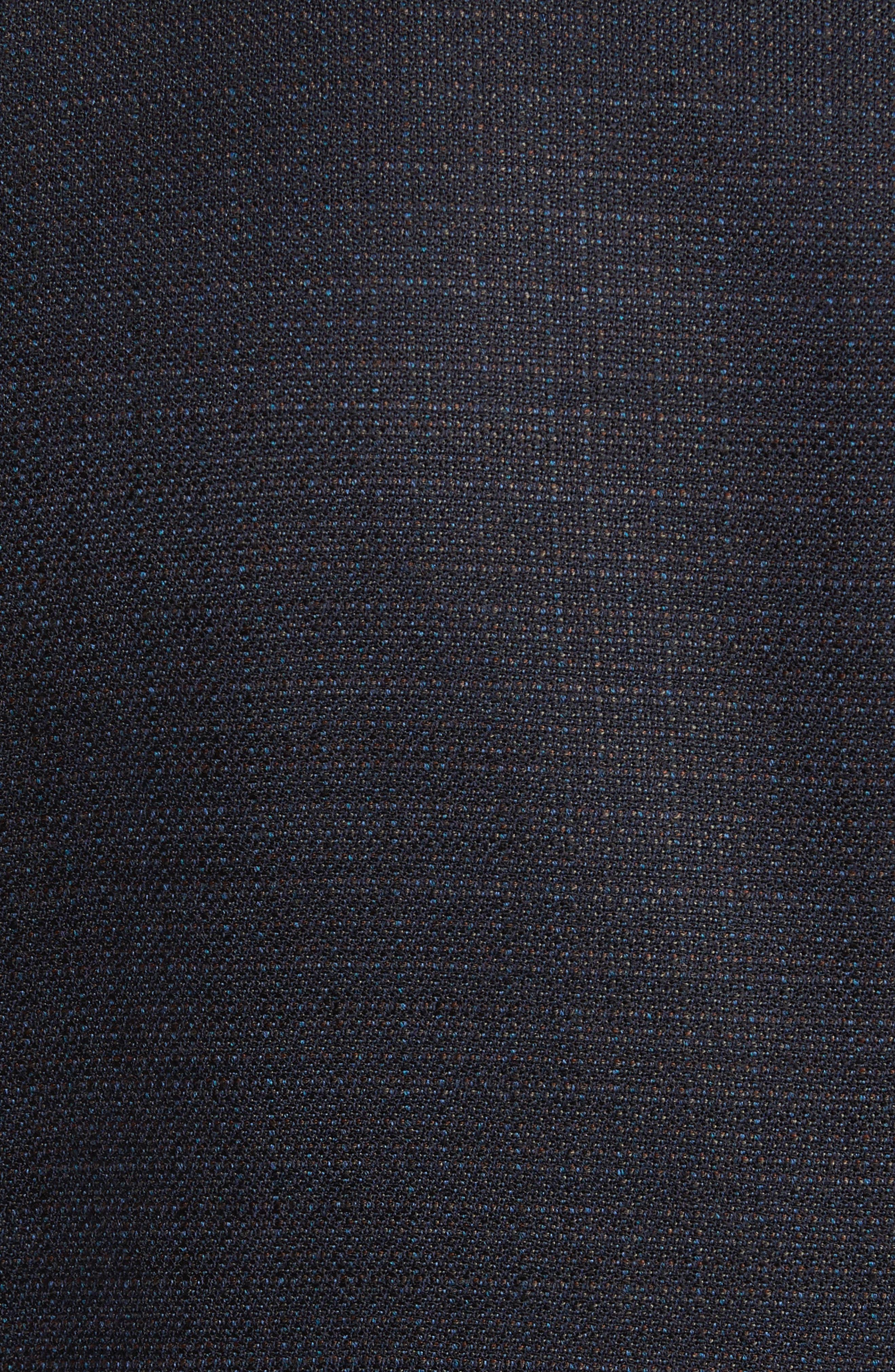 Trim Fit Hopsack Wool Blazer,                             Alternate thumbnail 6, color,                             400