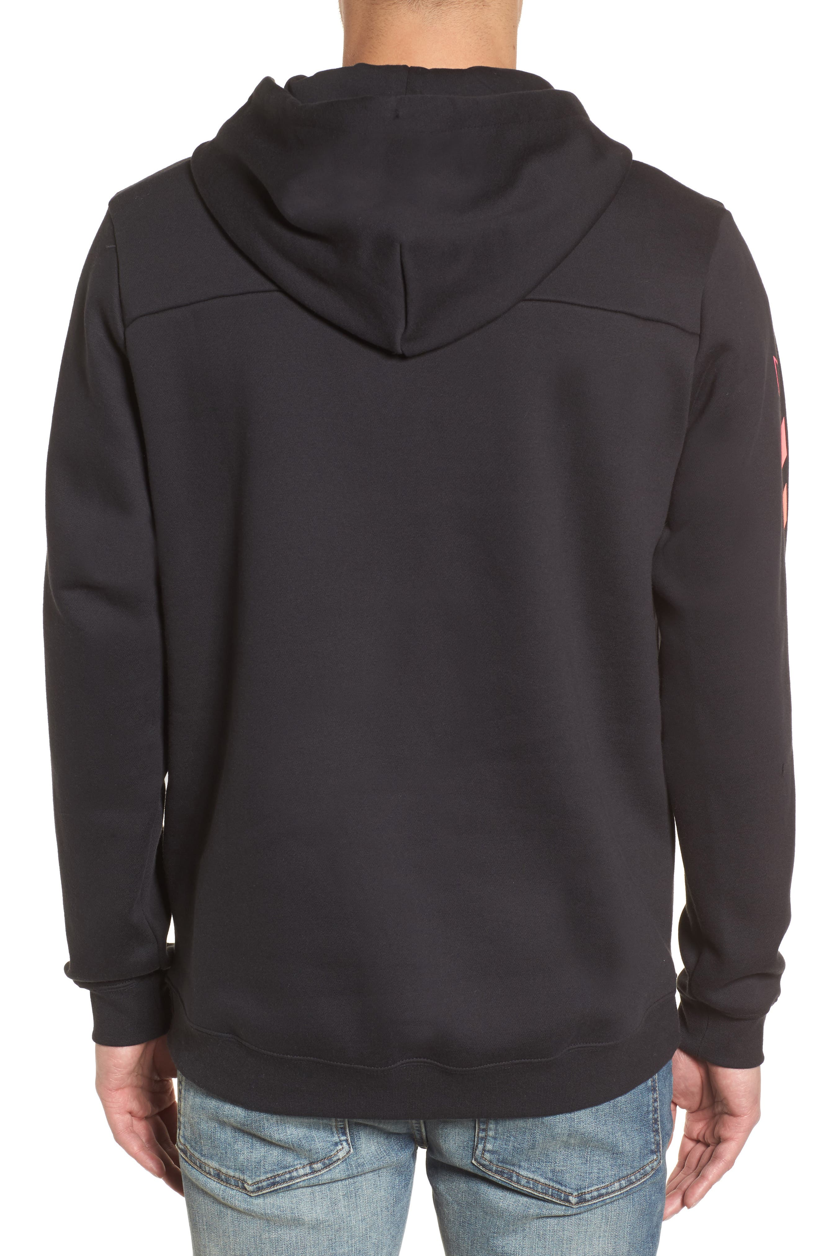 Surf Check Sig Zane Pullover Hoodie,                             Alternate thumbnail 2, color,                             010