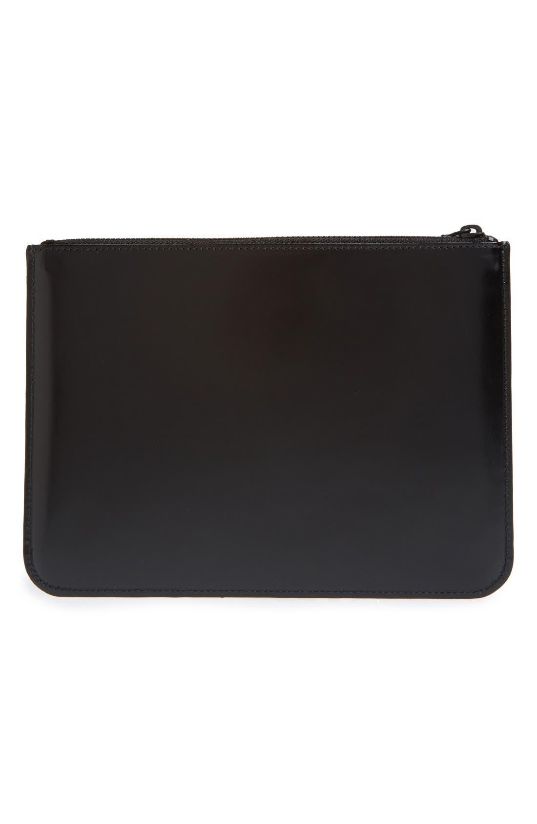 Top Zip Pouch Wallet,                             Alternate thumbnail 3, color,                             001