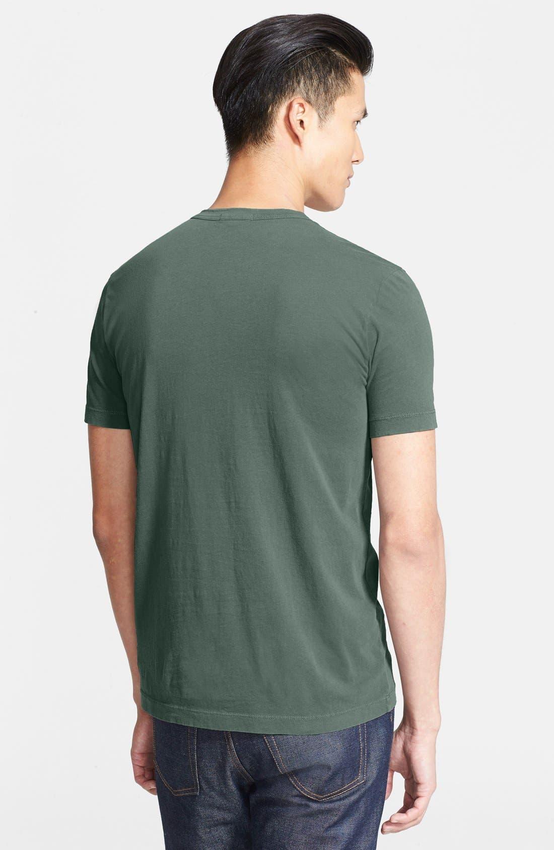 Crewneck Jersey T-Shirt,                             Alternate thumbnail 167, color,