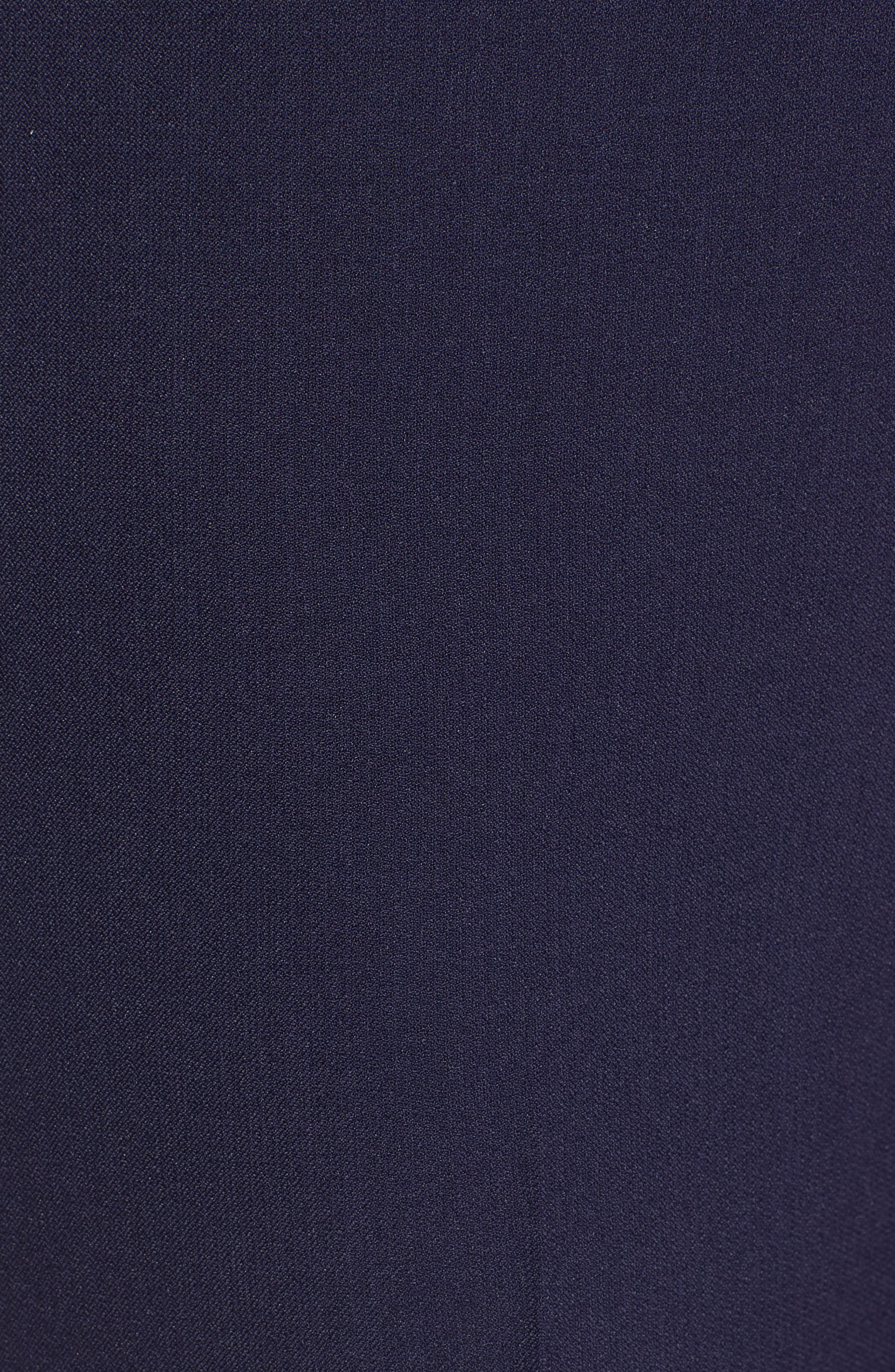 Crepe Slim Pants,                             Alternate thumbnail 6, color,
