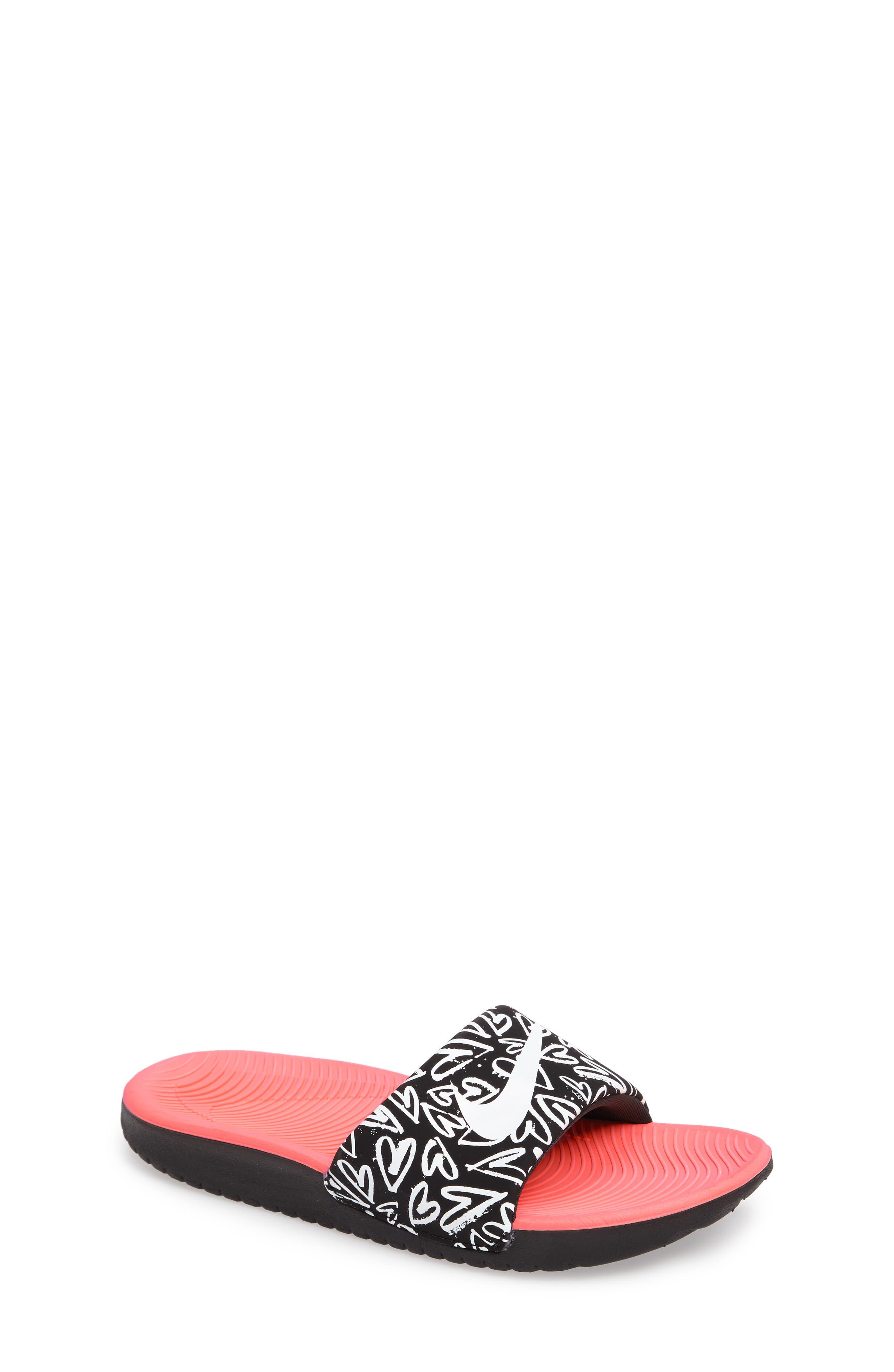 'Kawa' Print Slide Sandal,                             Main thumbnail 4, color,