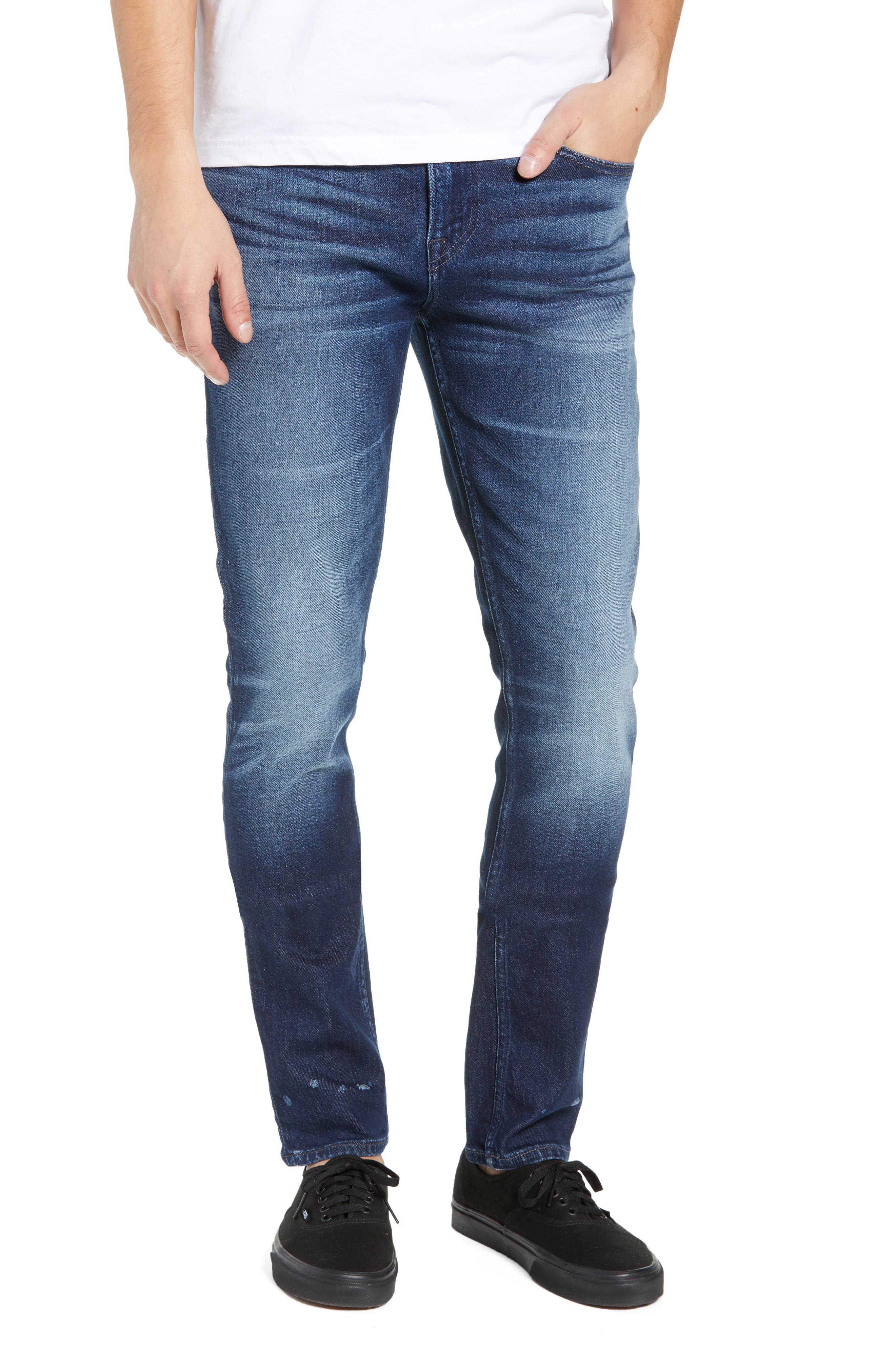 Axl Skinny Fit Jeans,                         Main,                         color, BENNETT