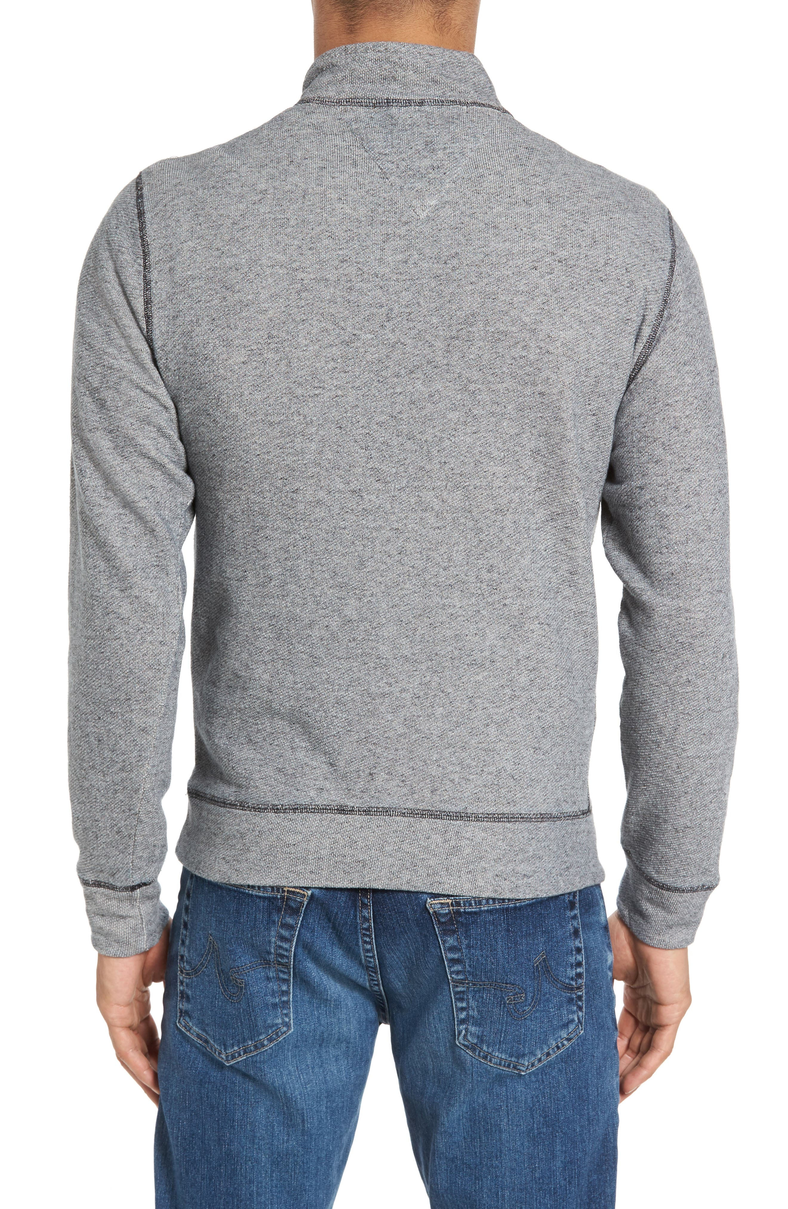 French Terry Zip Cardigan,                             Alternate thumbnail 2, color,                             020