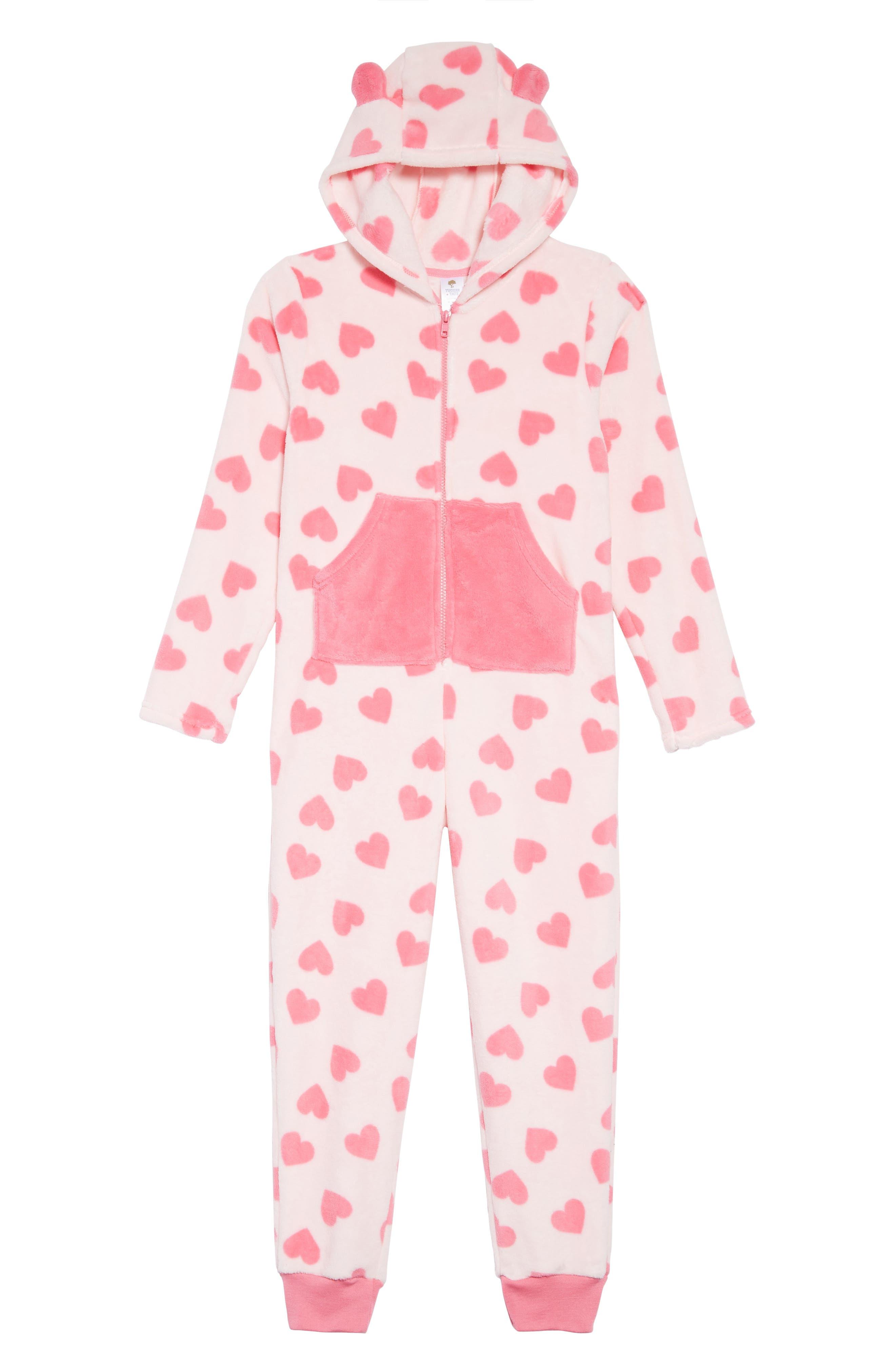One-Piece Pajamas,                         Main,                         color, 680