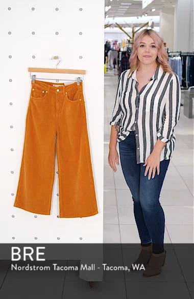 Wide Leg Corduroy Trousers, sales video thumbnail