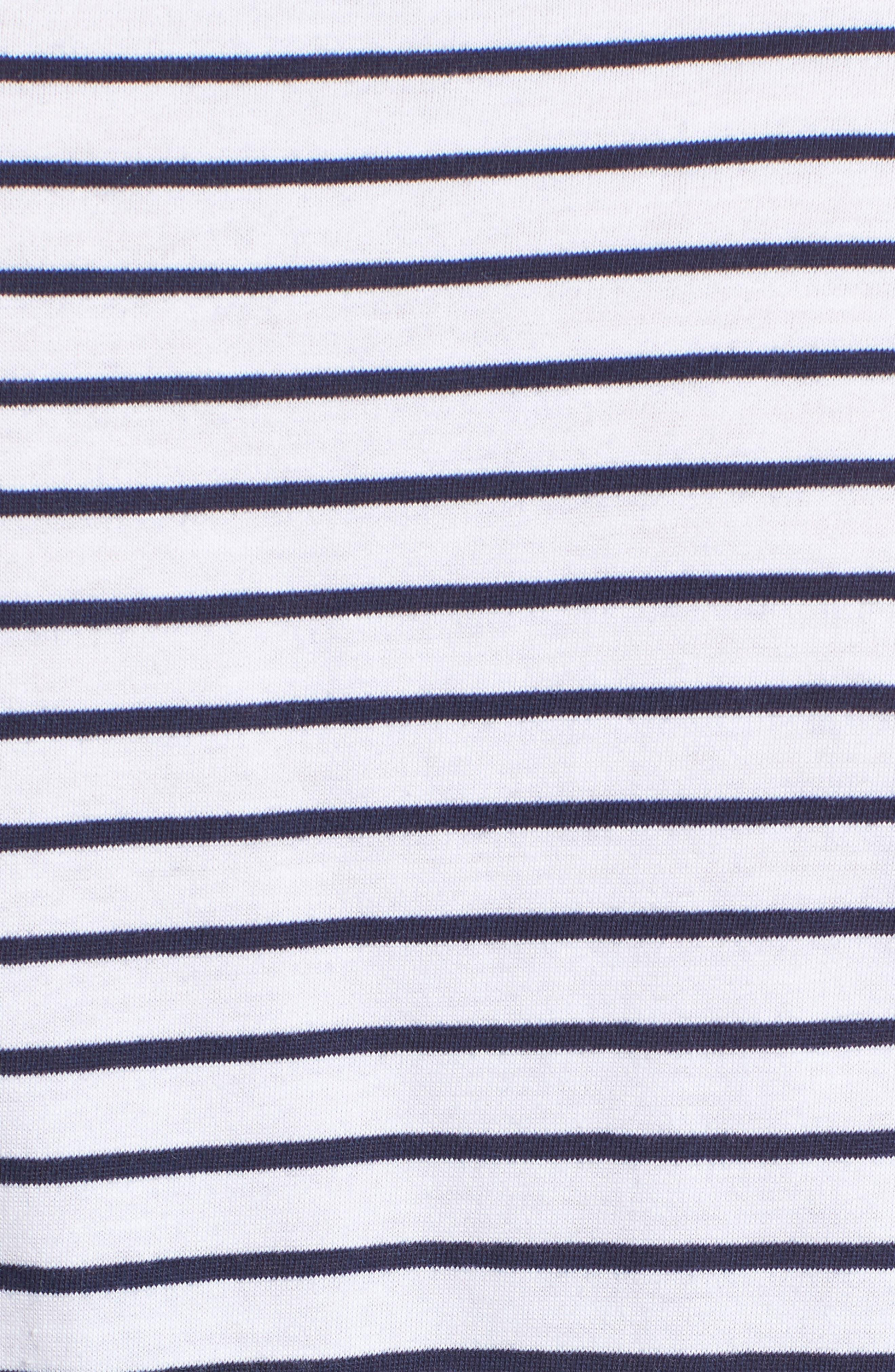 Recharge Knot Hem T-Shirt Dress,                             Alternate thumbnail 5, color,                             400