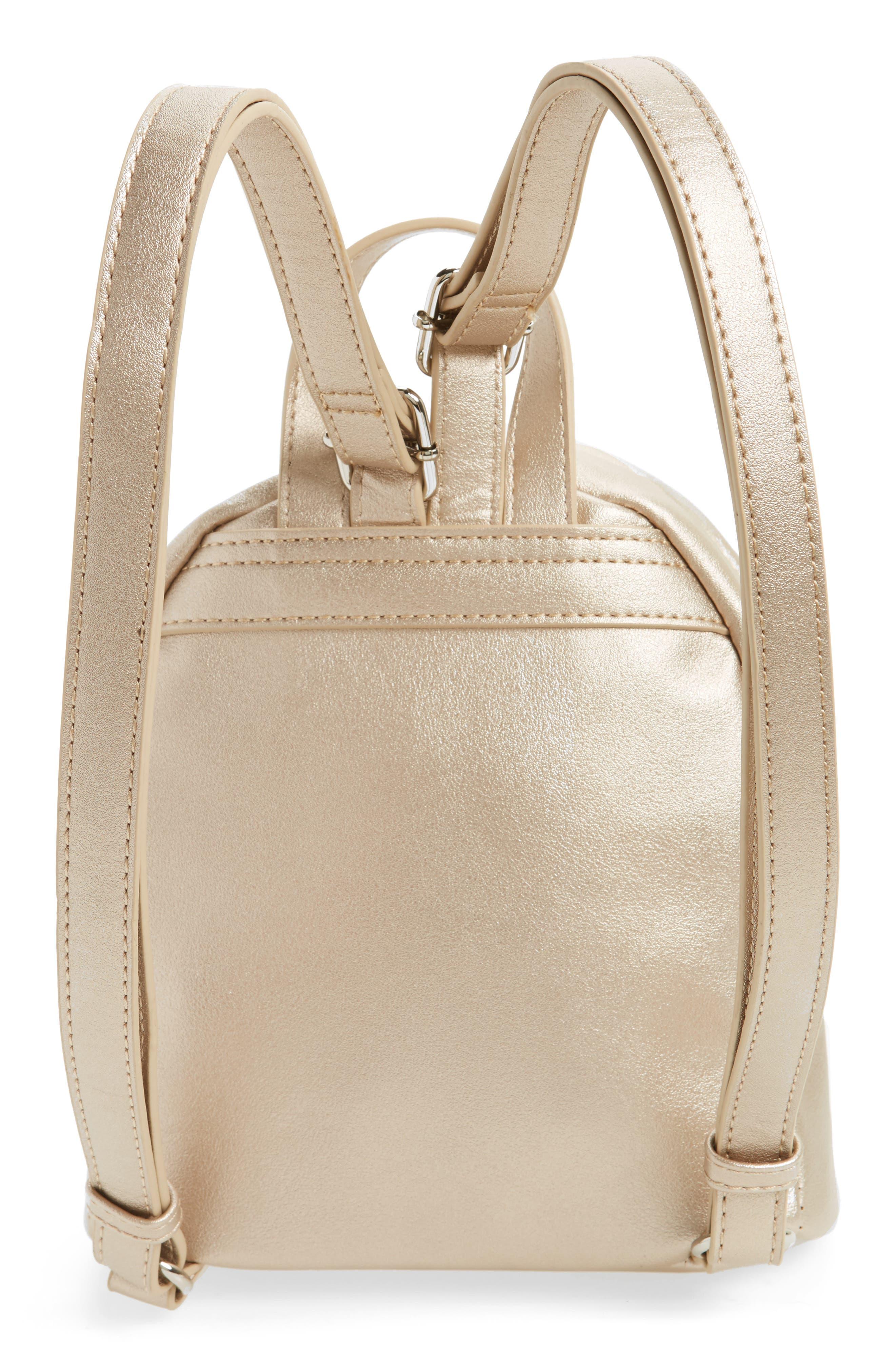 Faux Leather Mini Backpack,                             Alternate thumbnail 20, color,