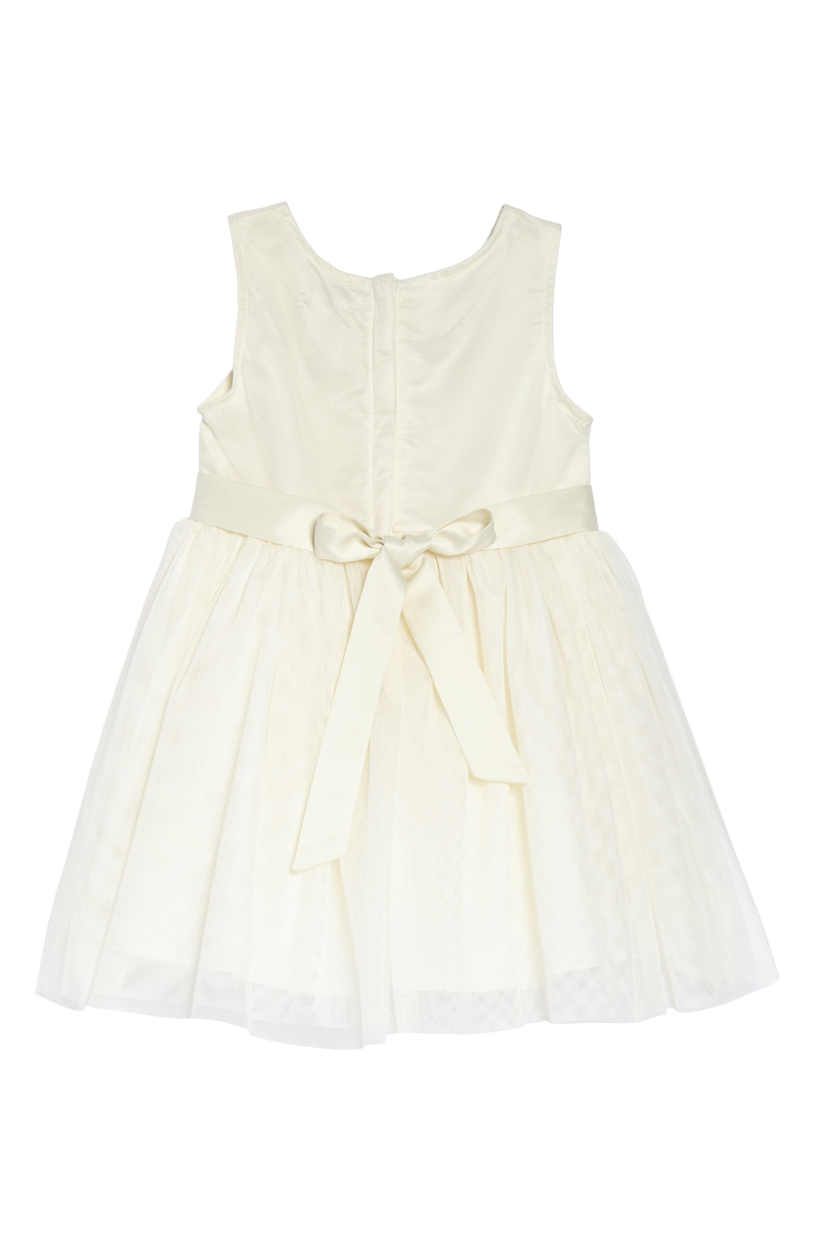 Flower Embroidered Party Dress,                             Alternate thumbnail 2, color,                             900