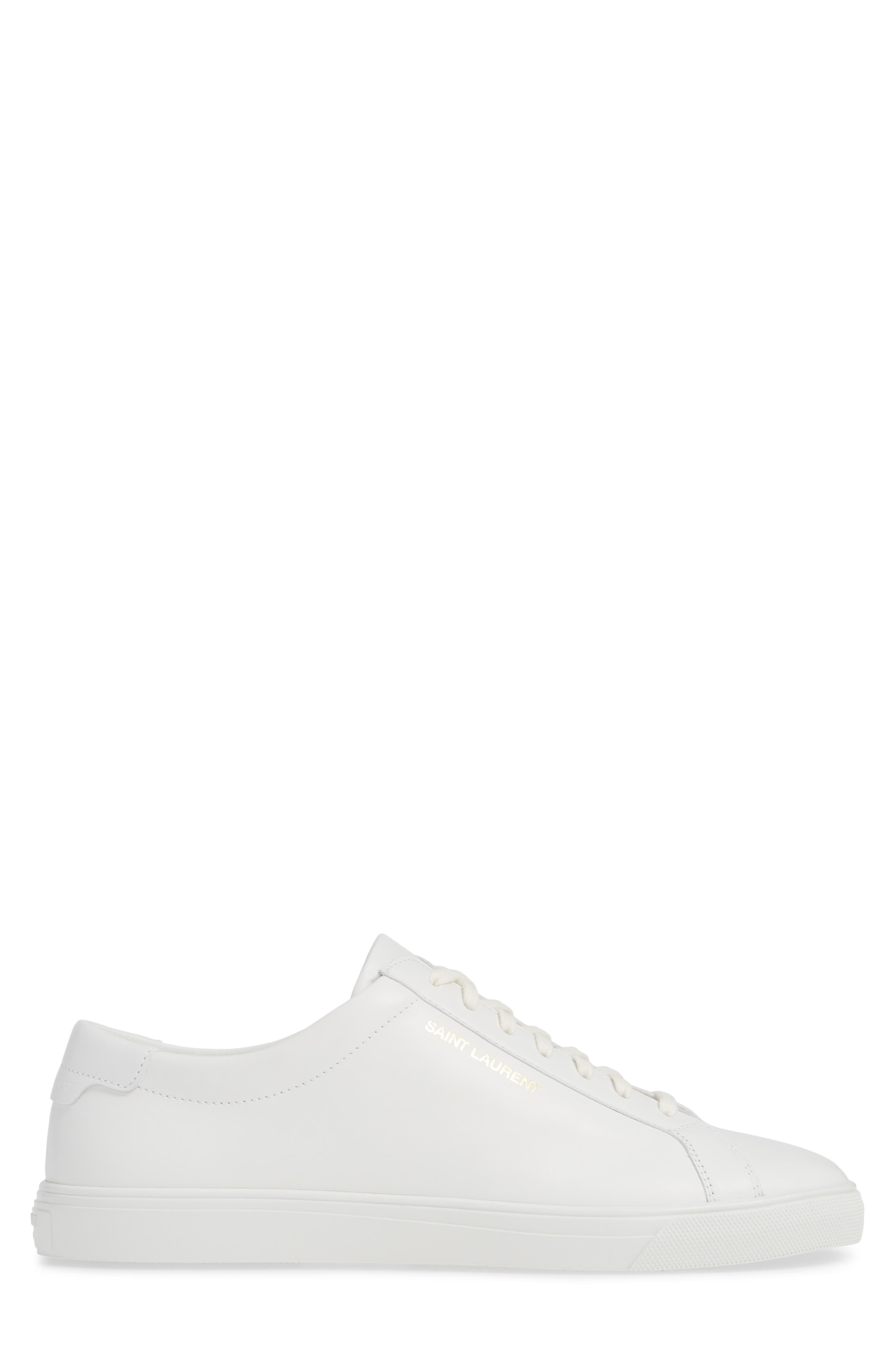 Andy Low Top Sneaker,                             Alternate thumbnail 3, color,                             BLANC OPTIQUE