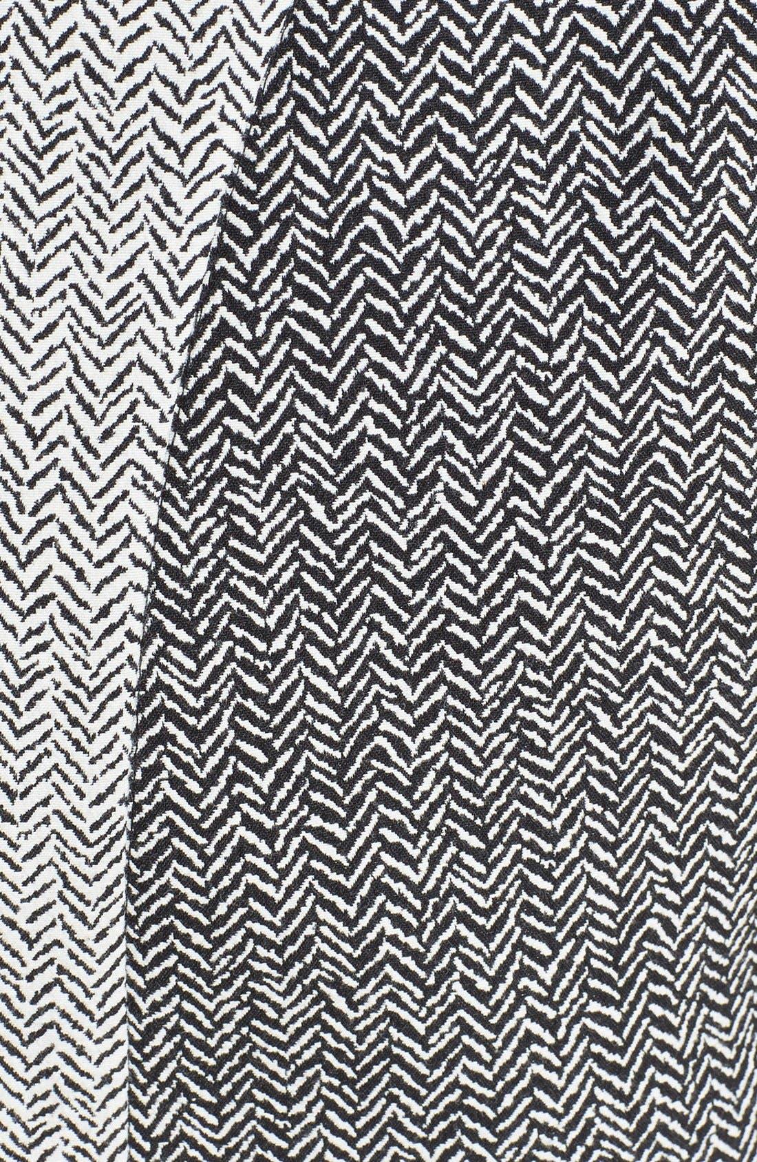 ZZDNU RACHEL RACHEL ROY,                             Rachel Roy Mix Chevron Jacquard Sheath Dress,                             Alternate thumbnail 2, color,                             010