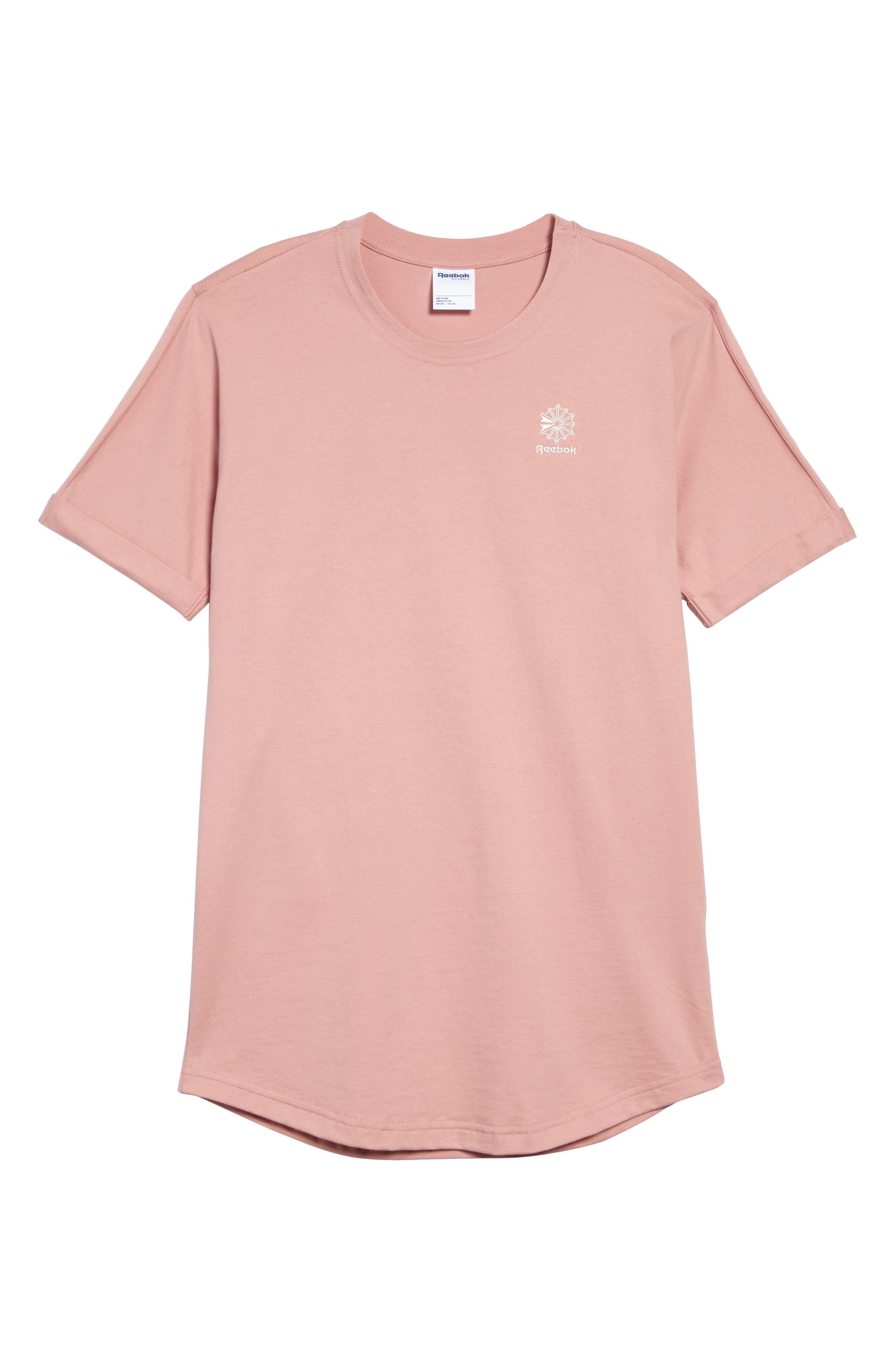 Extended Regular Crewneck T-Shirt,                             Alternate thumbnail 12, color,