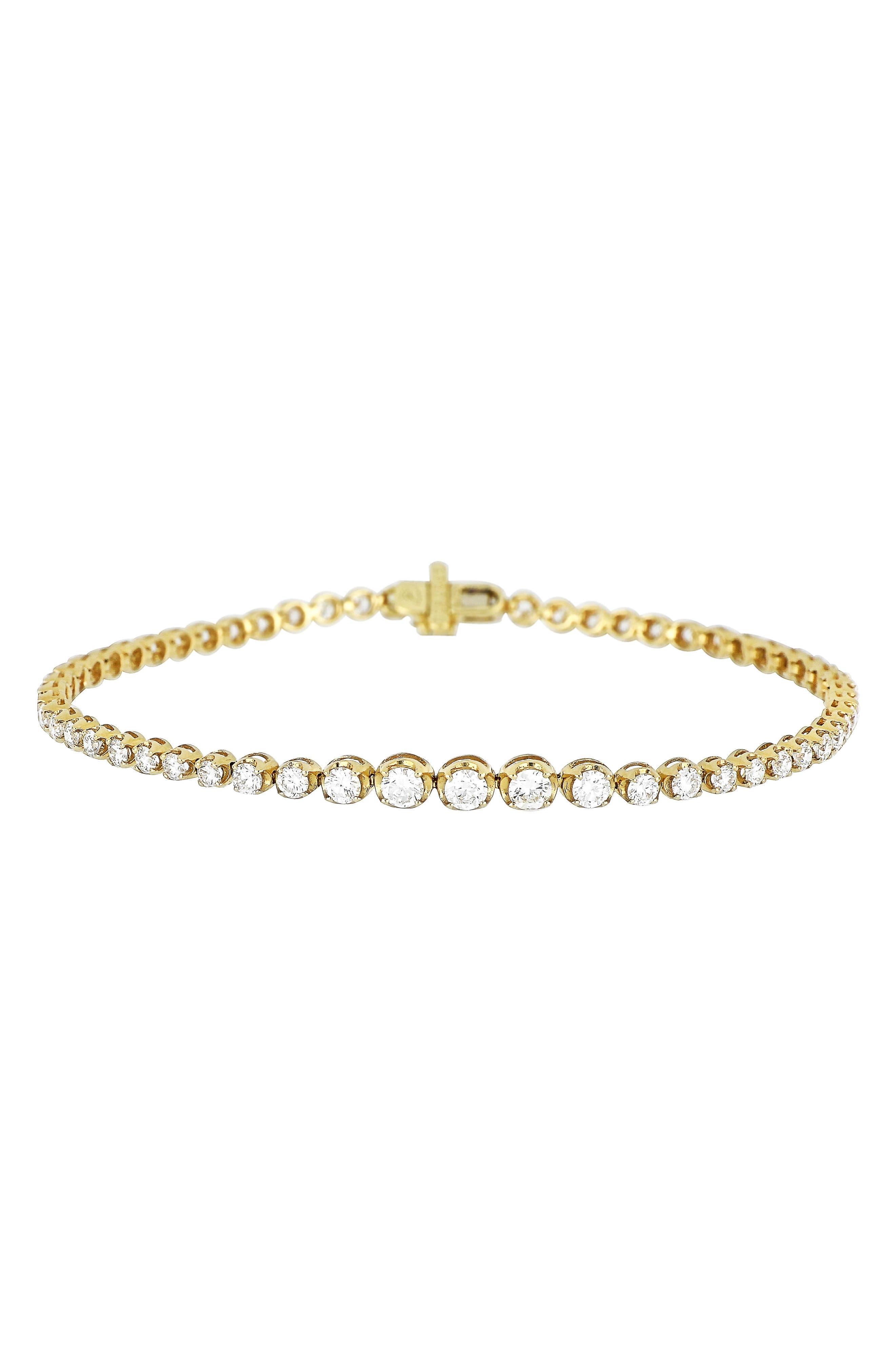 Diamond Tennis Bracelet,                             Main thumbnail 1, color,                             701