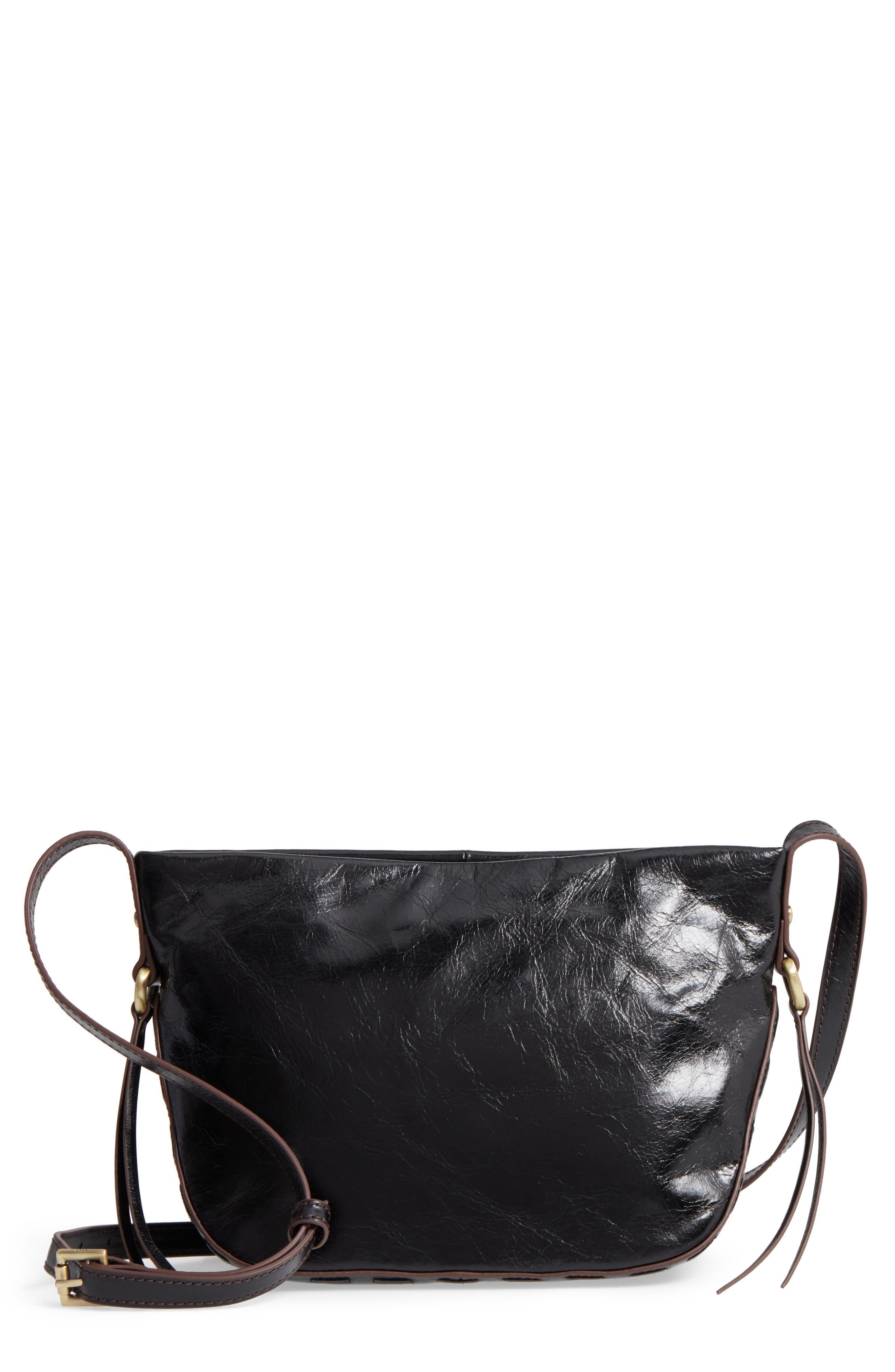 Muse Calfskin Leather Crossbody Bag,                             Main thumbnail 1, color,                             001