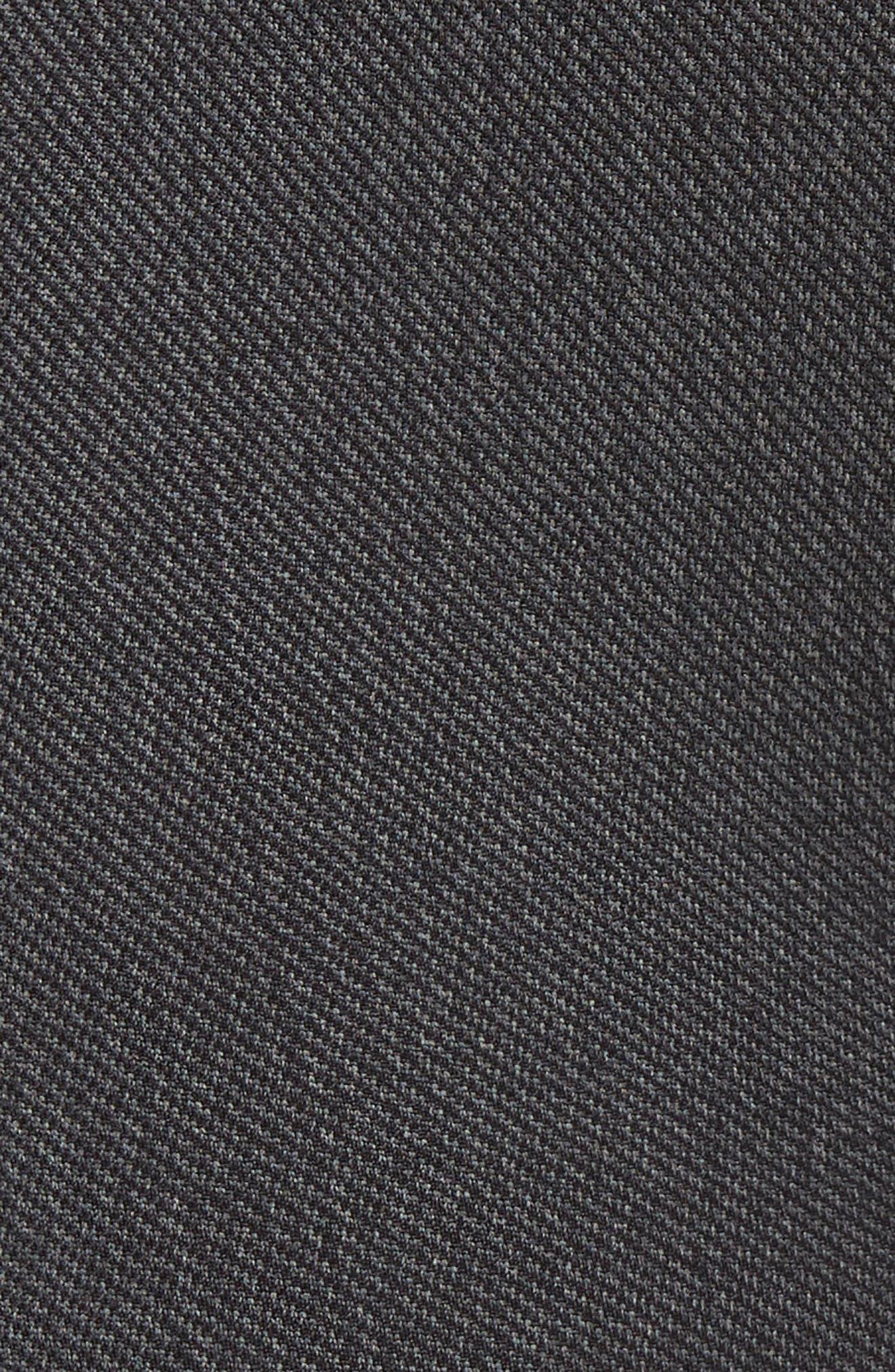 Washed Moto Seamless Skimmer Leggings,                             Alternate thumbnail 5, color,                             BLACK