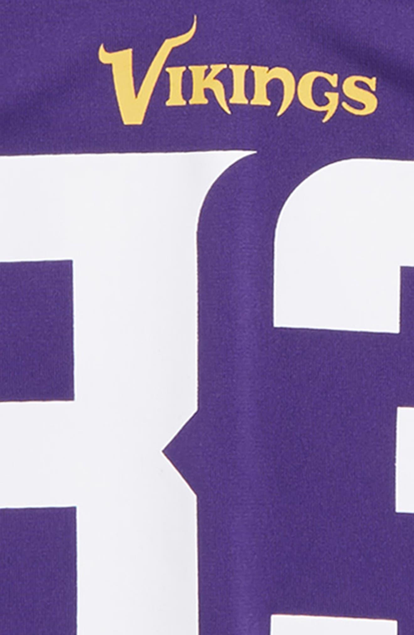 NFL Minnesota Vikings Dalvin Cook Jersey,                             Alternate thumbnail 3, color,                             PURPLE