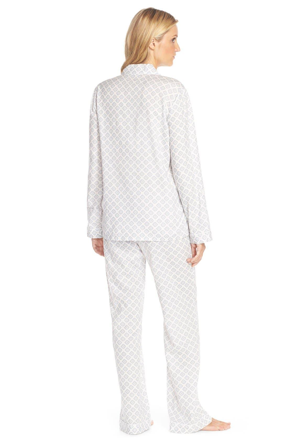Cotton Twill Pajamas,                             Alternate thumbnail 23, color,