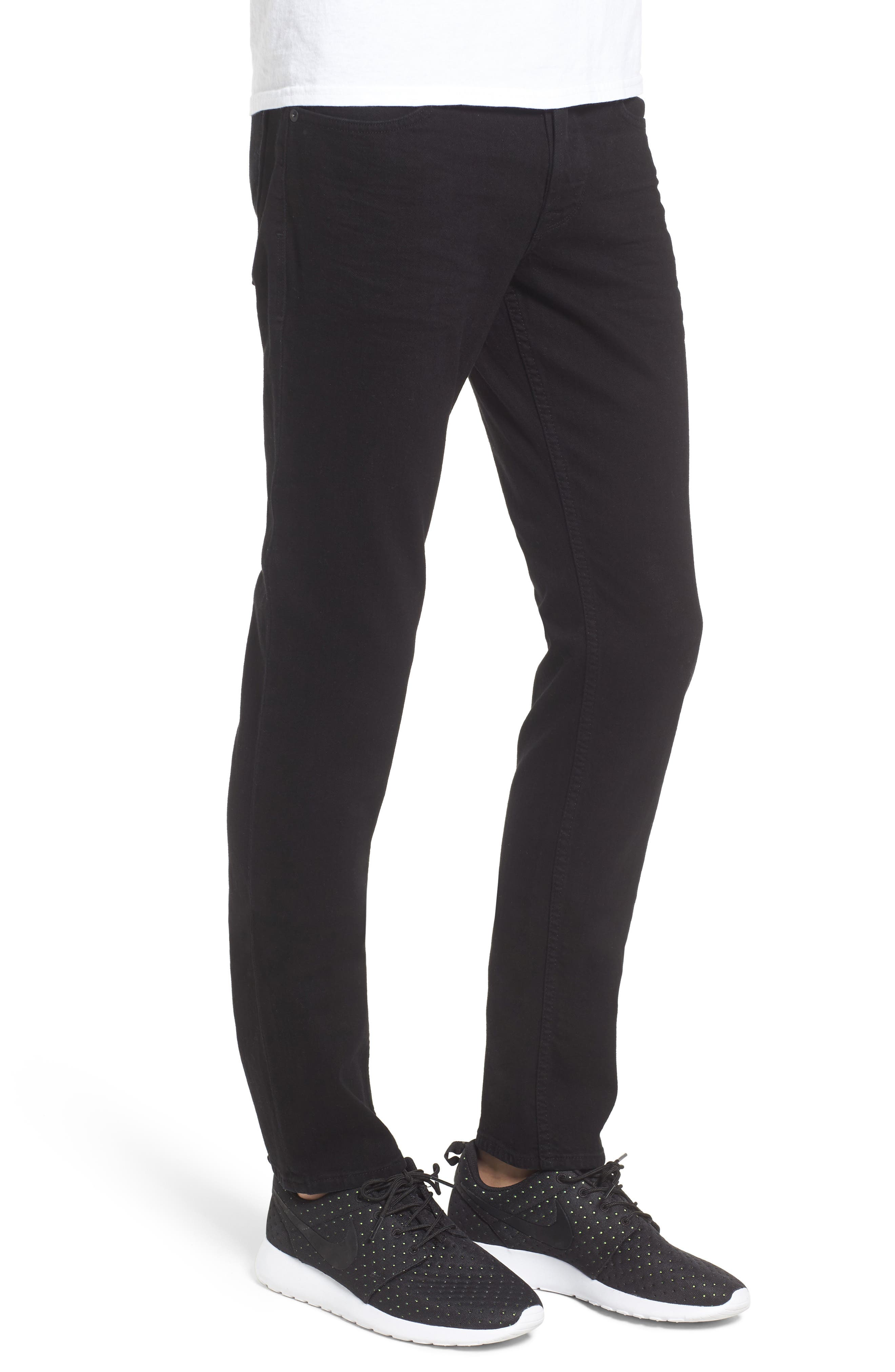 Axl Skinny Fit Jeans,                             Alternate thumbnail 3, color,                             002