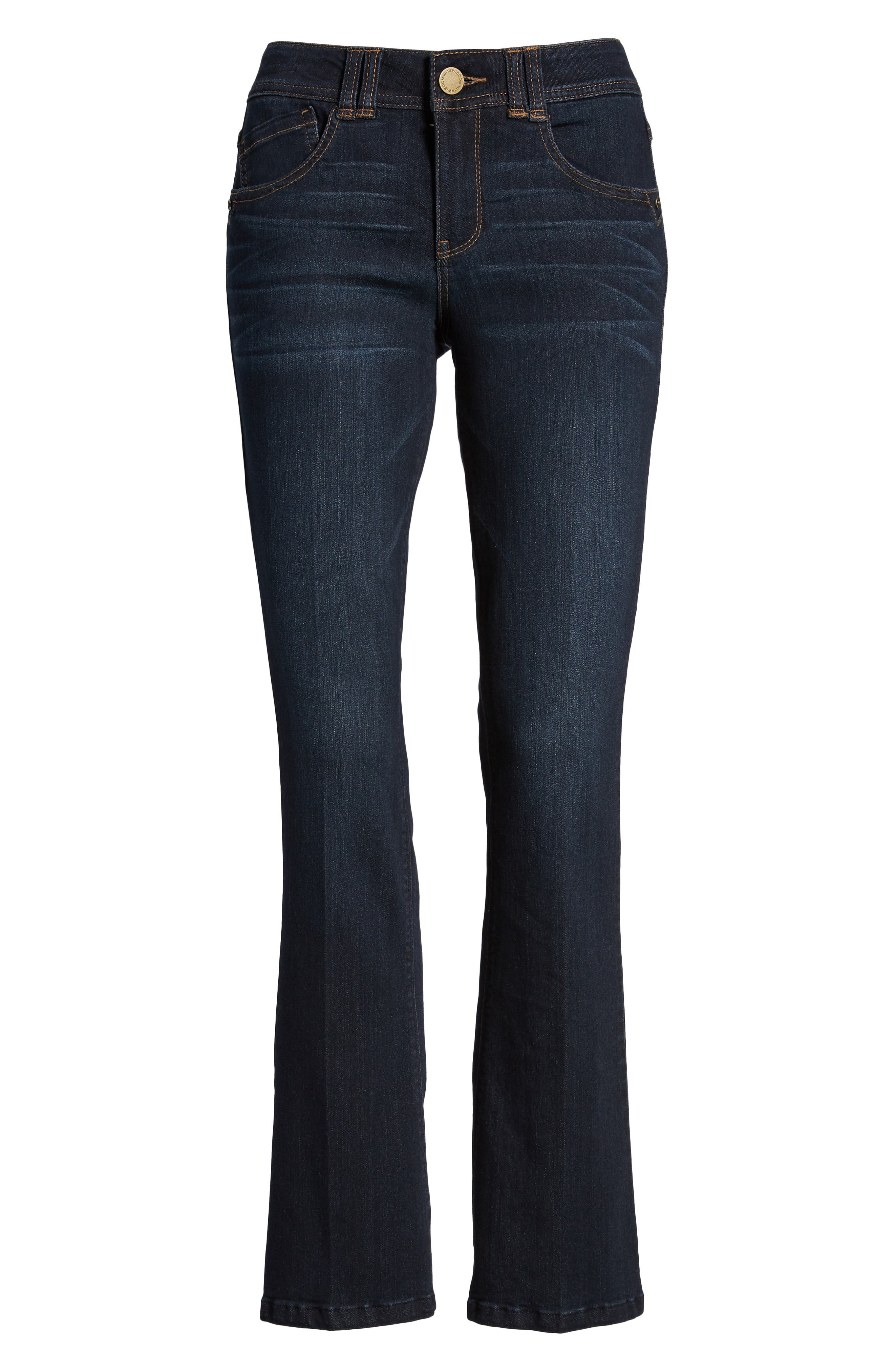 Ab-solution Itty Bitty Bootcut Jeans,                             Alternate thumbnail 7, color,                             IN-INDIGO