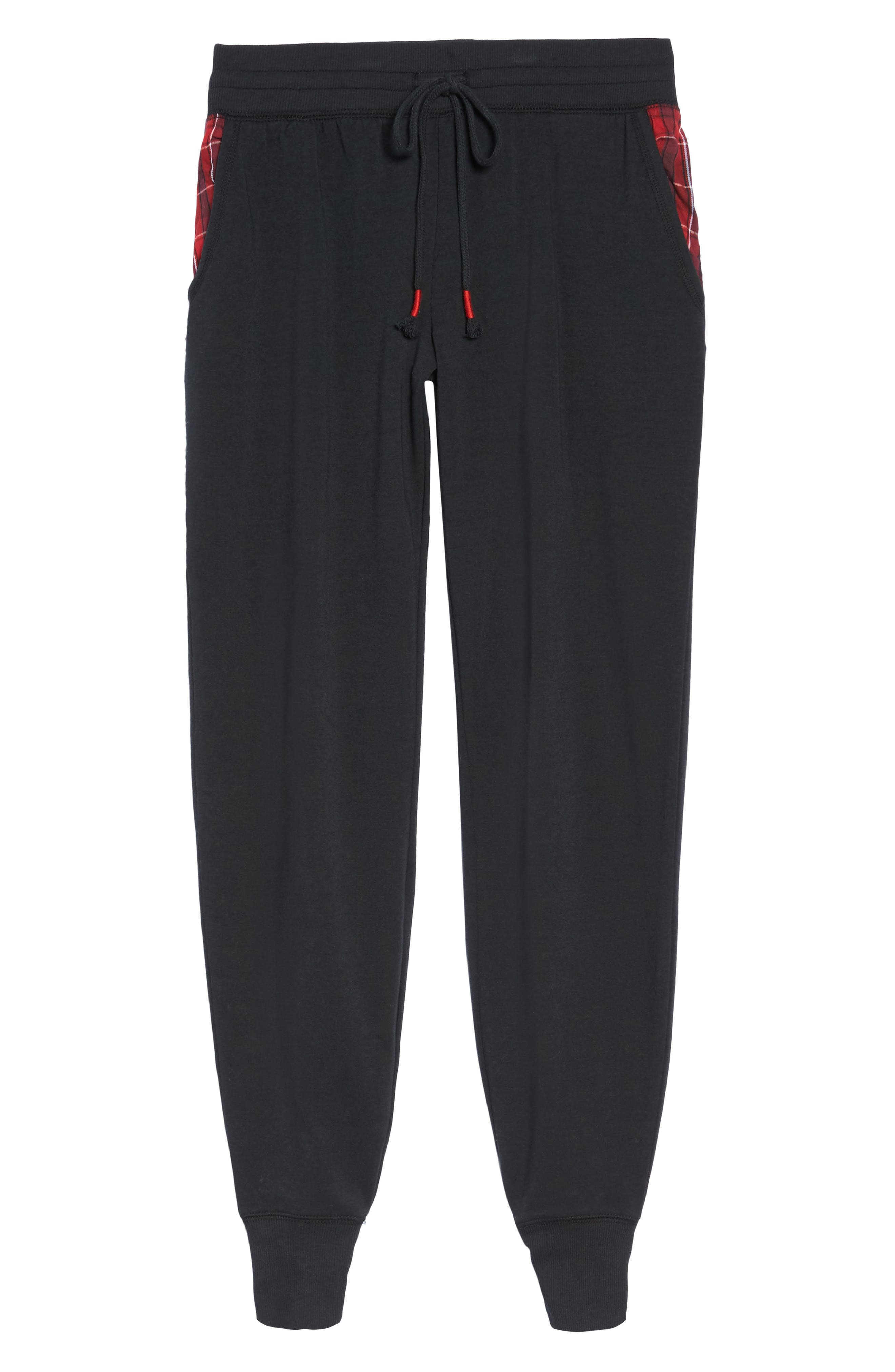 Lounge Jogger Pants,                             Alternate thumbnail 6, color,                             001