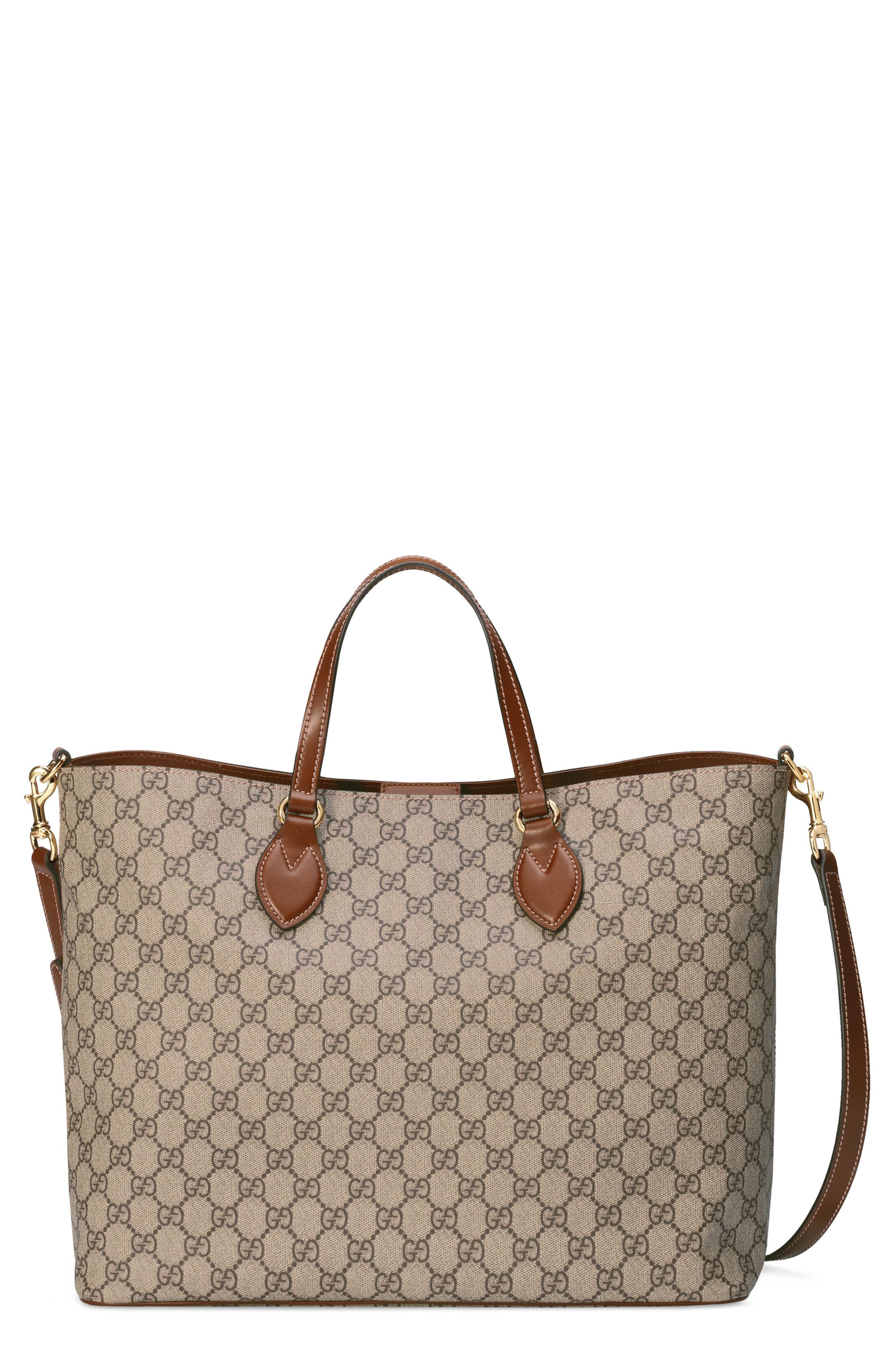 GG Supreme Soft Canvas Tote,                             Main thumbnail 1, color,                             283