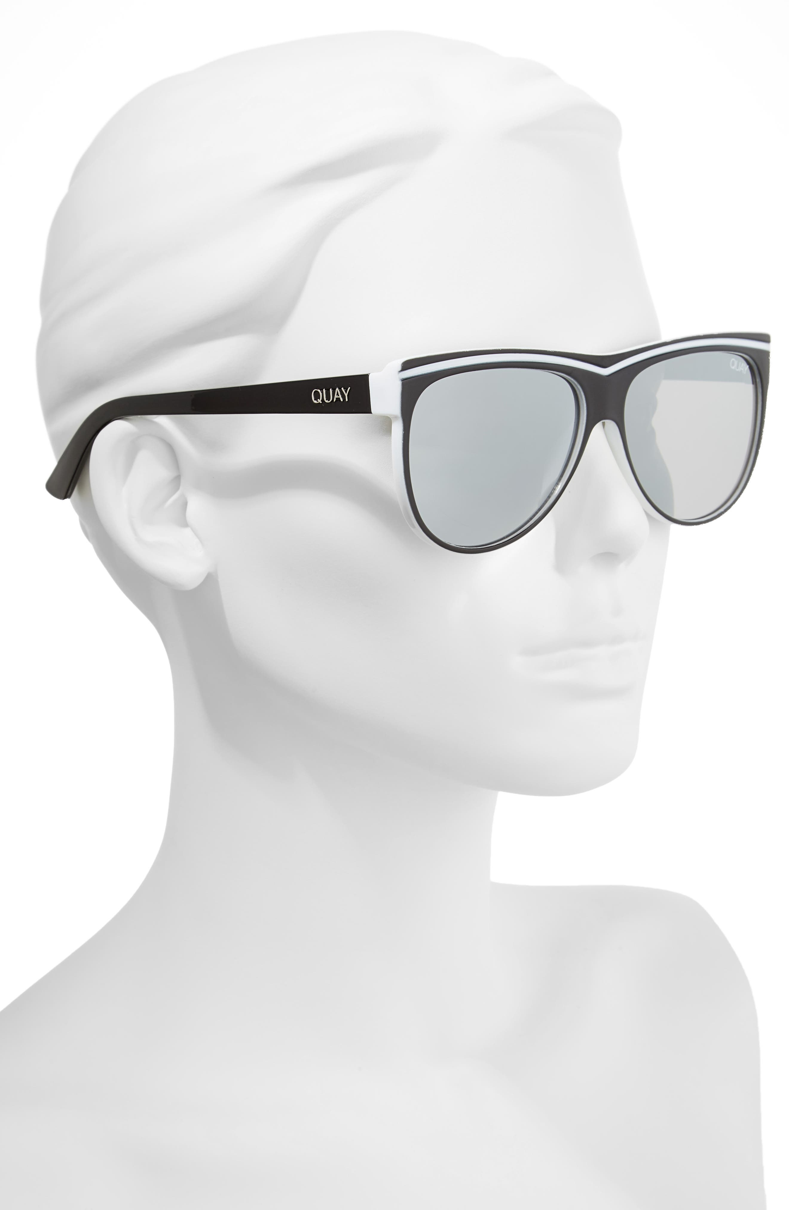 Hollywood Nights 62mm Sunglasses,                             Alternate thumbnail 4, color,