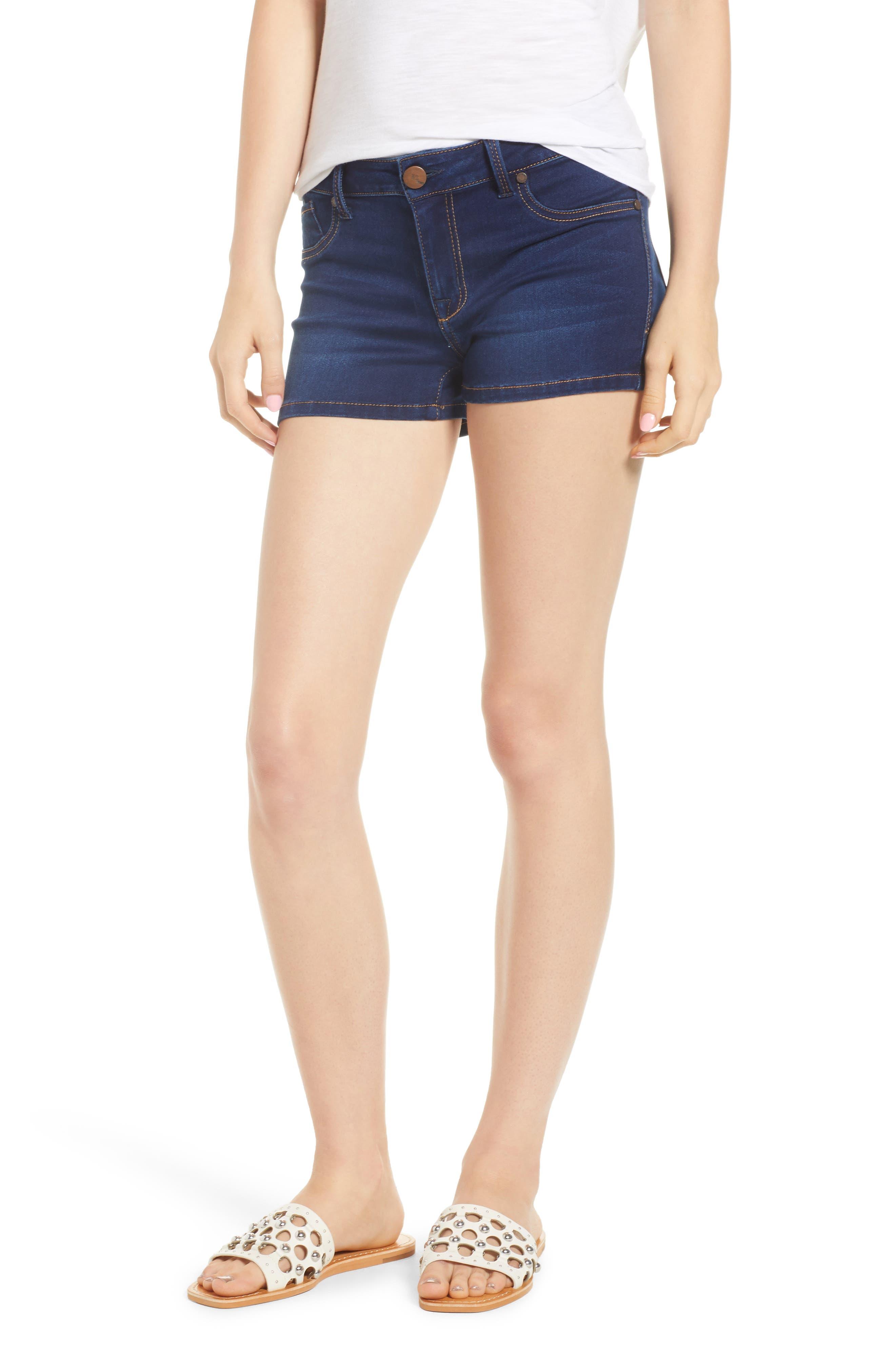 Butter Denim Shorts,                         Main,                         color, LENNOX