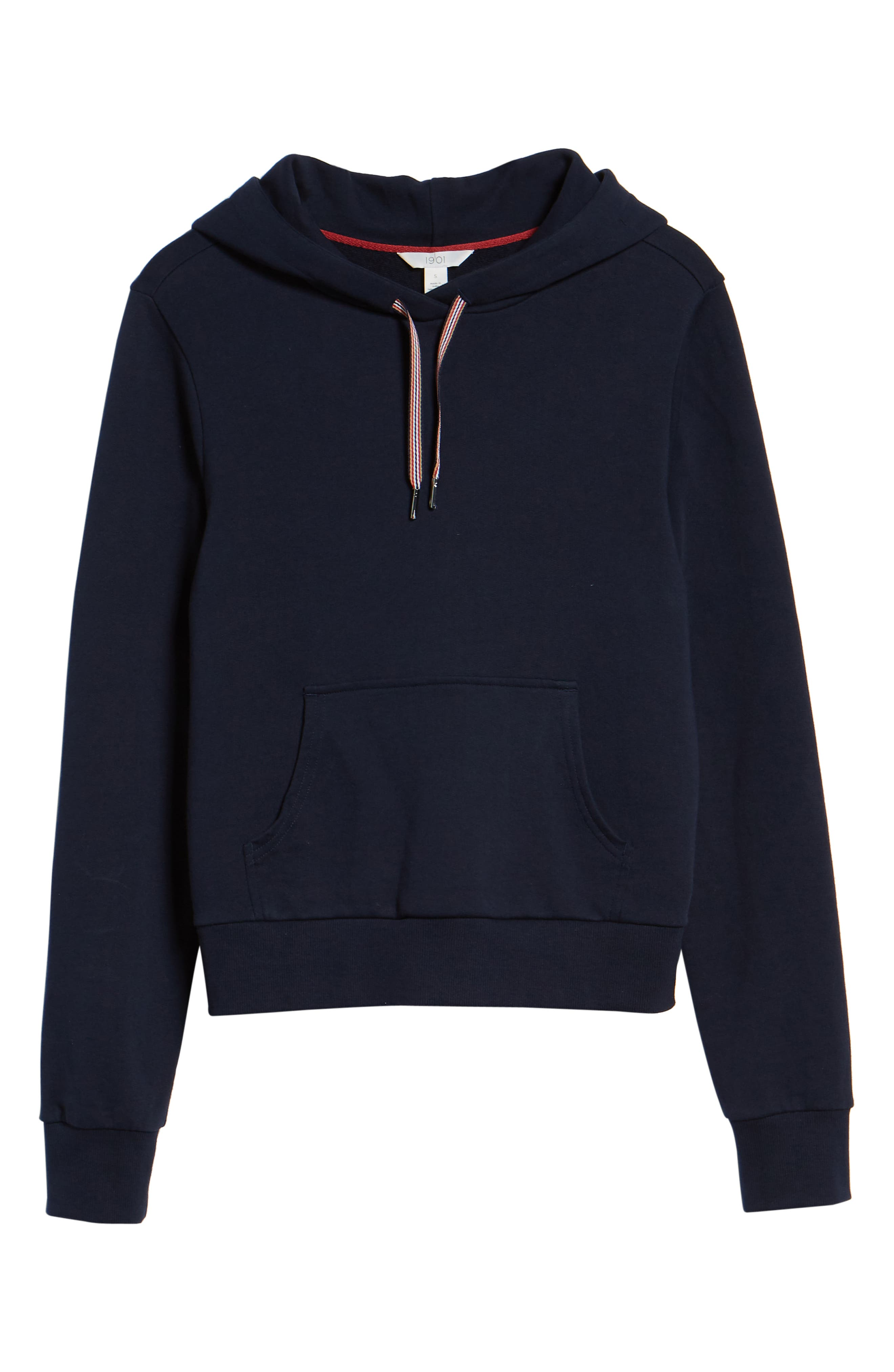 Stretch Cotton Hoodie,                             Alternate thumbnail 6, color,                             410