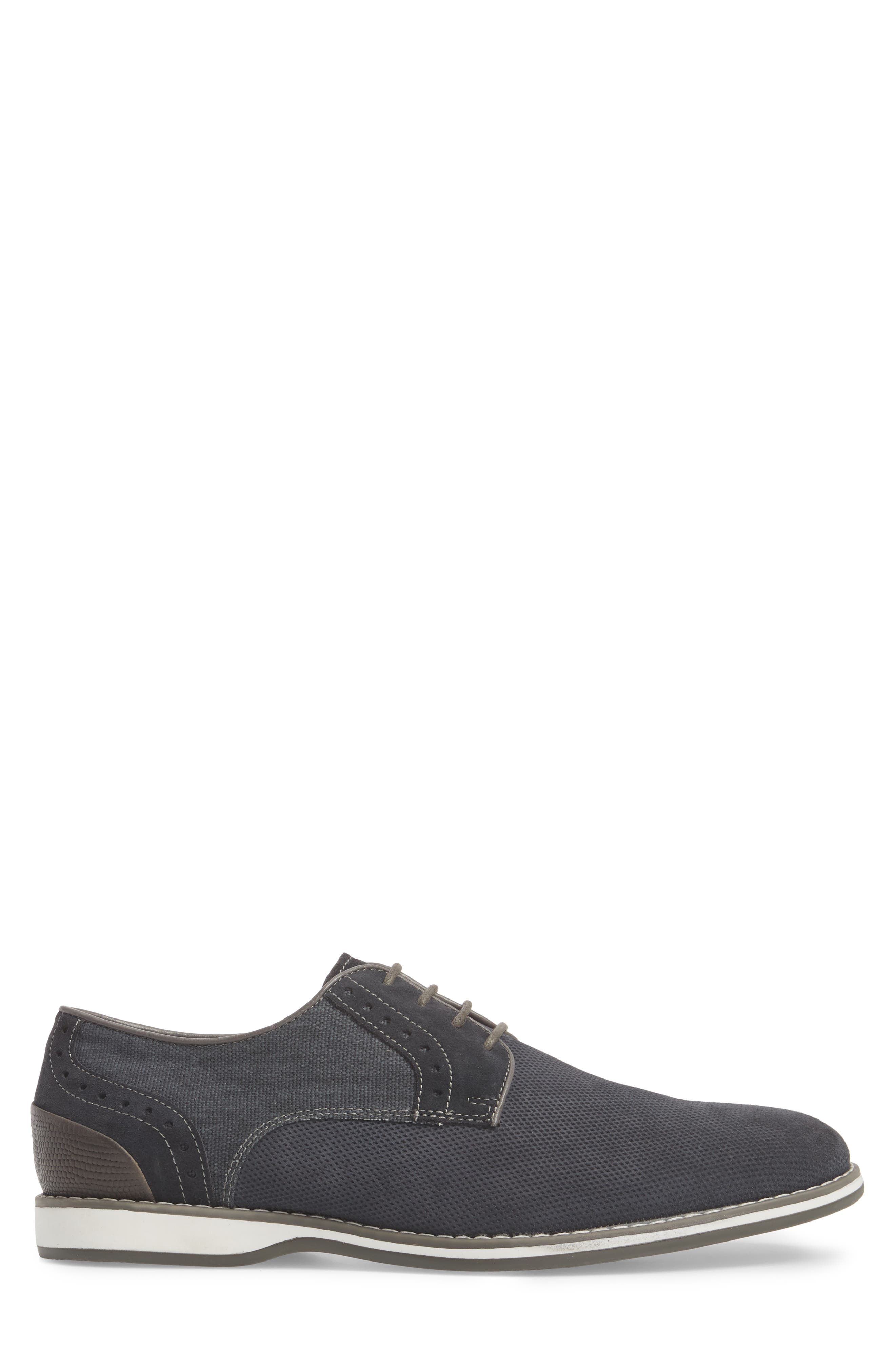 Weiser Lace-up Derby,                             Alternate thumbnail 3, color,                             NAVY