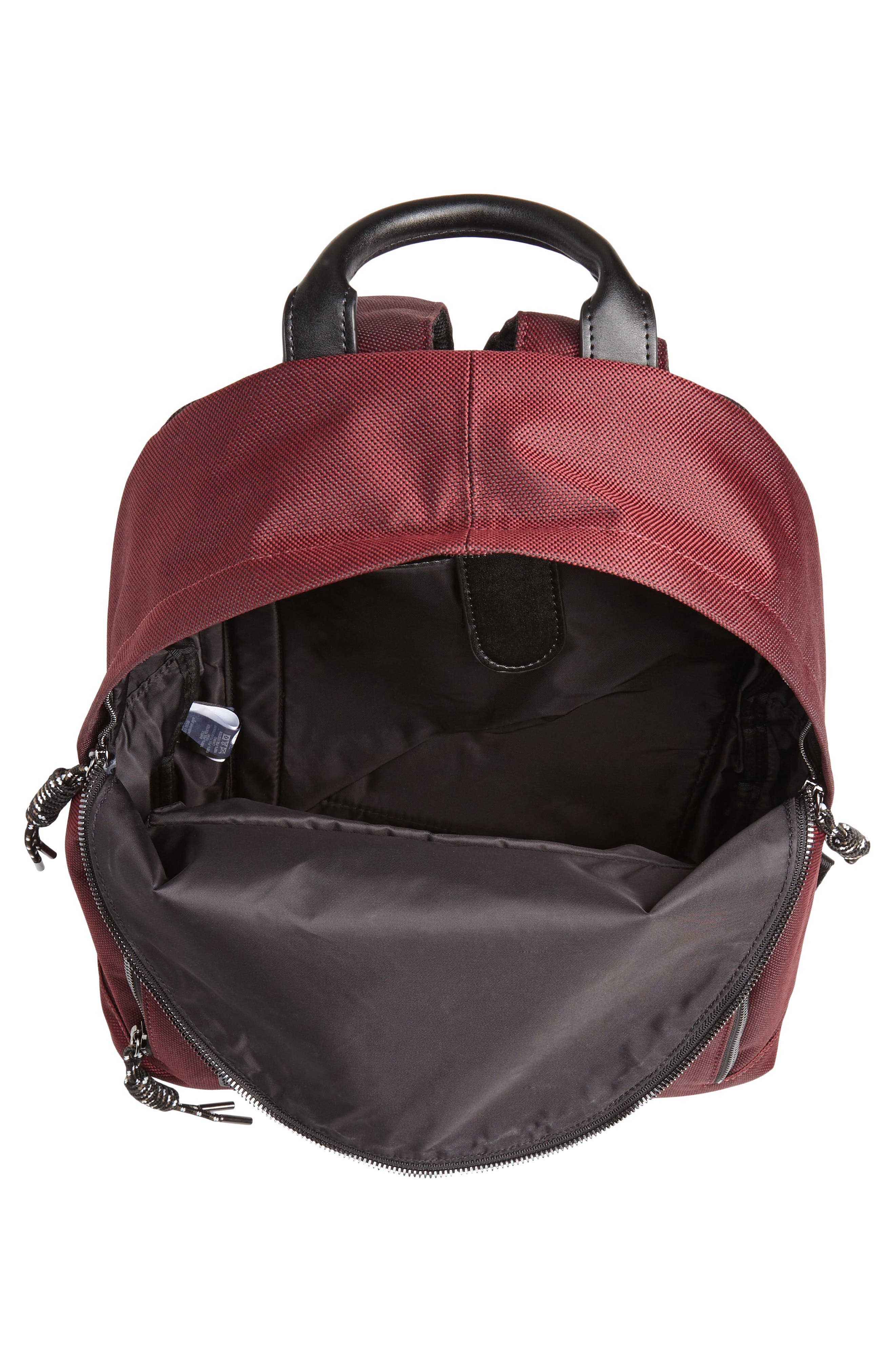 Filer Backpack,                             Alternate thumbnail 4, color,                             RED